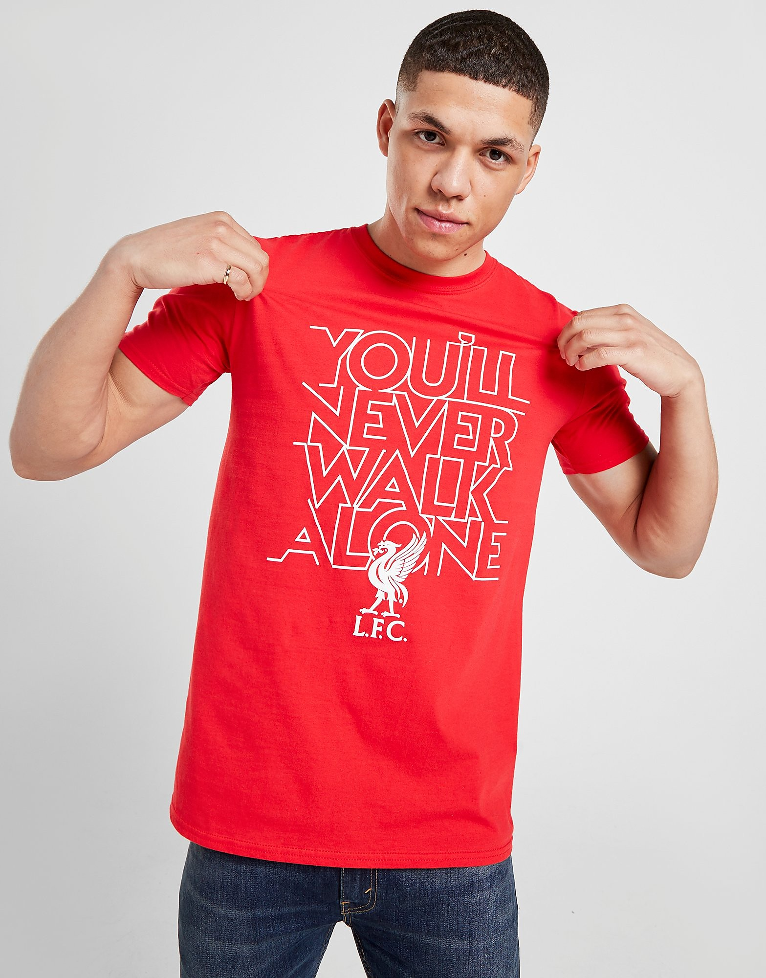 Official Team Liverpool FC YNWA T-Shirt
