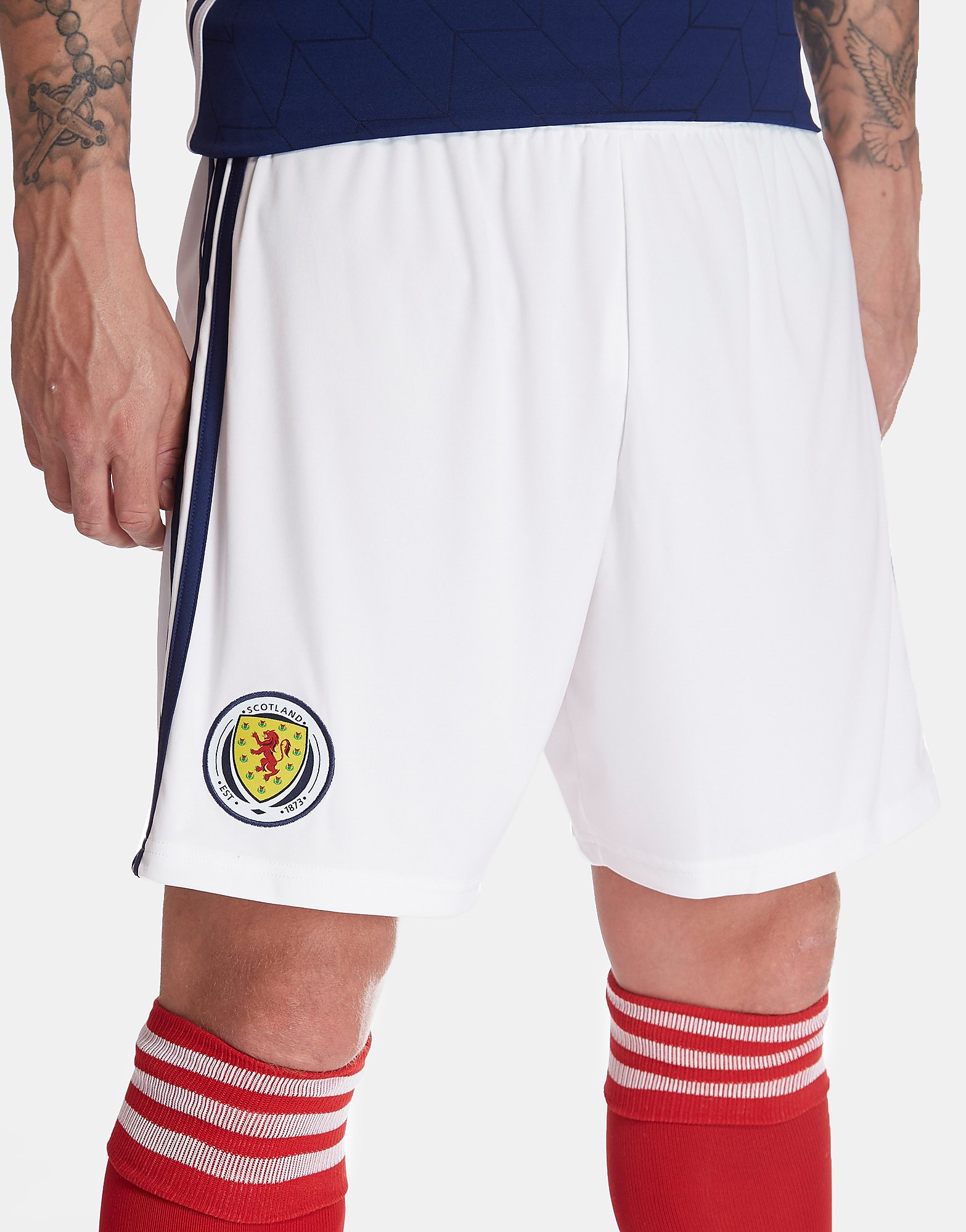 adidas Scotland 2017/18 Home Shorts