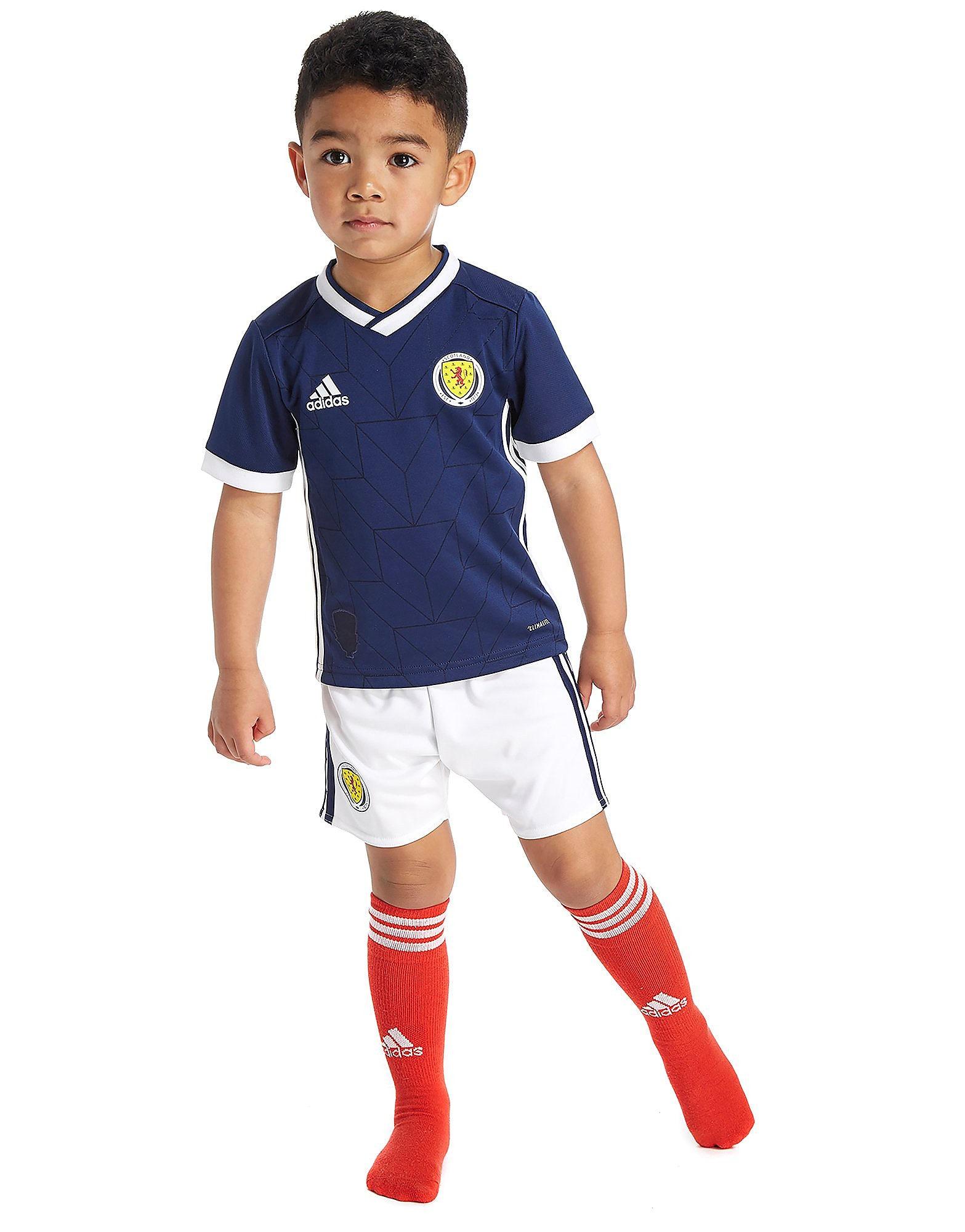 adidas Scotland 2017/18 Home Kit Children