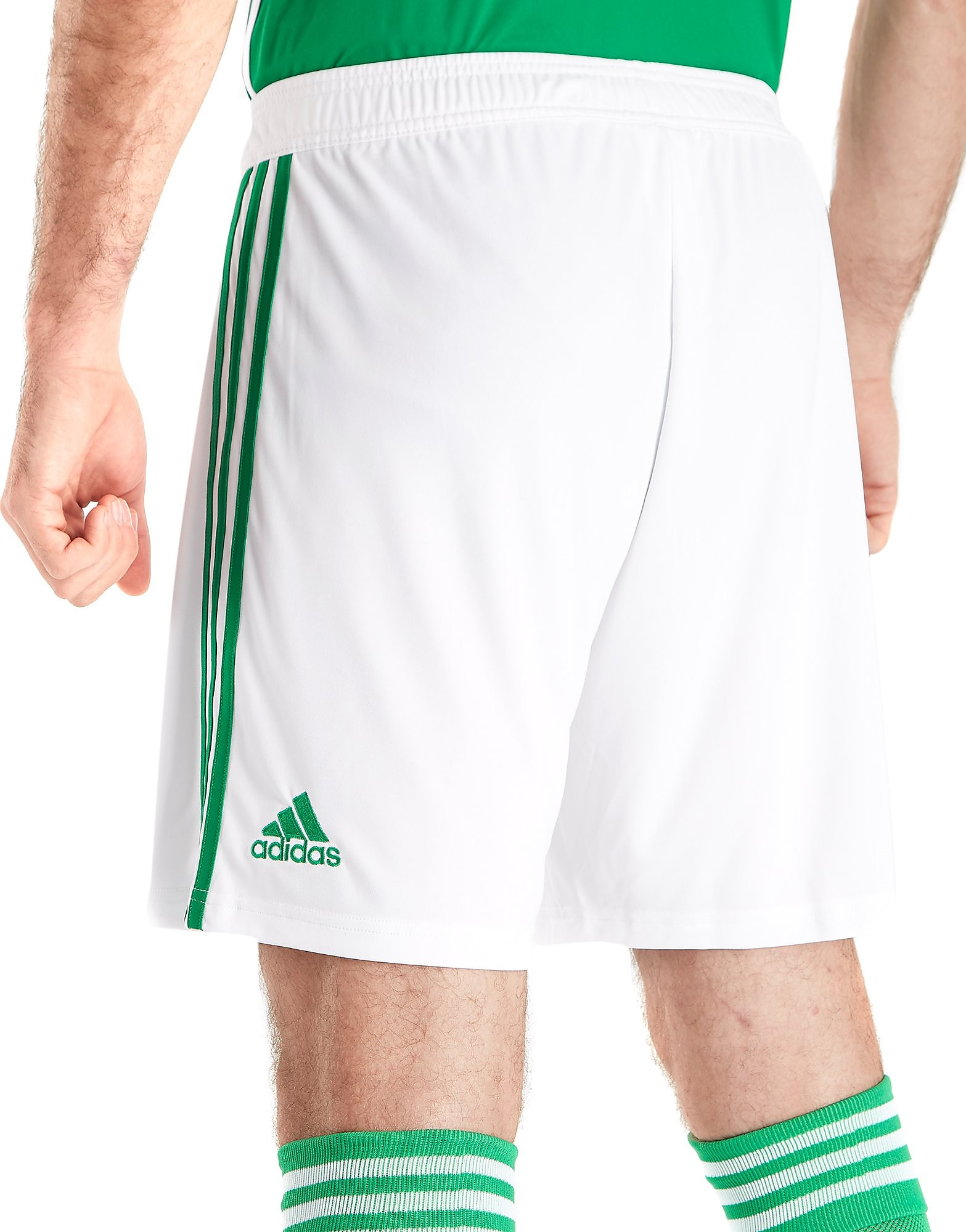 adidas Northern Ireland 2017/18 Home Shorts
