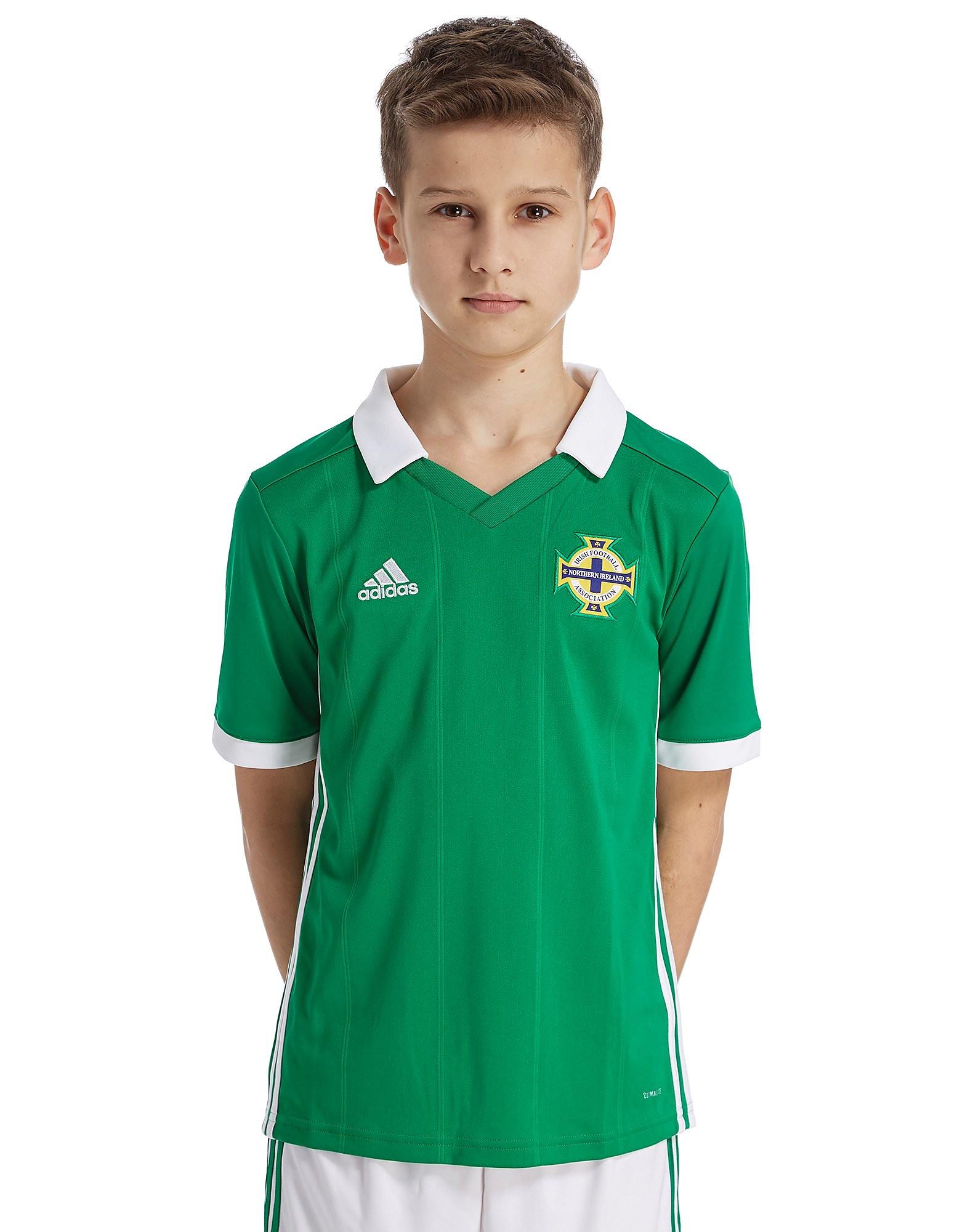 adidas Northern Ireland 2017/18 Home Shirt Junior - Groen - Kind