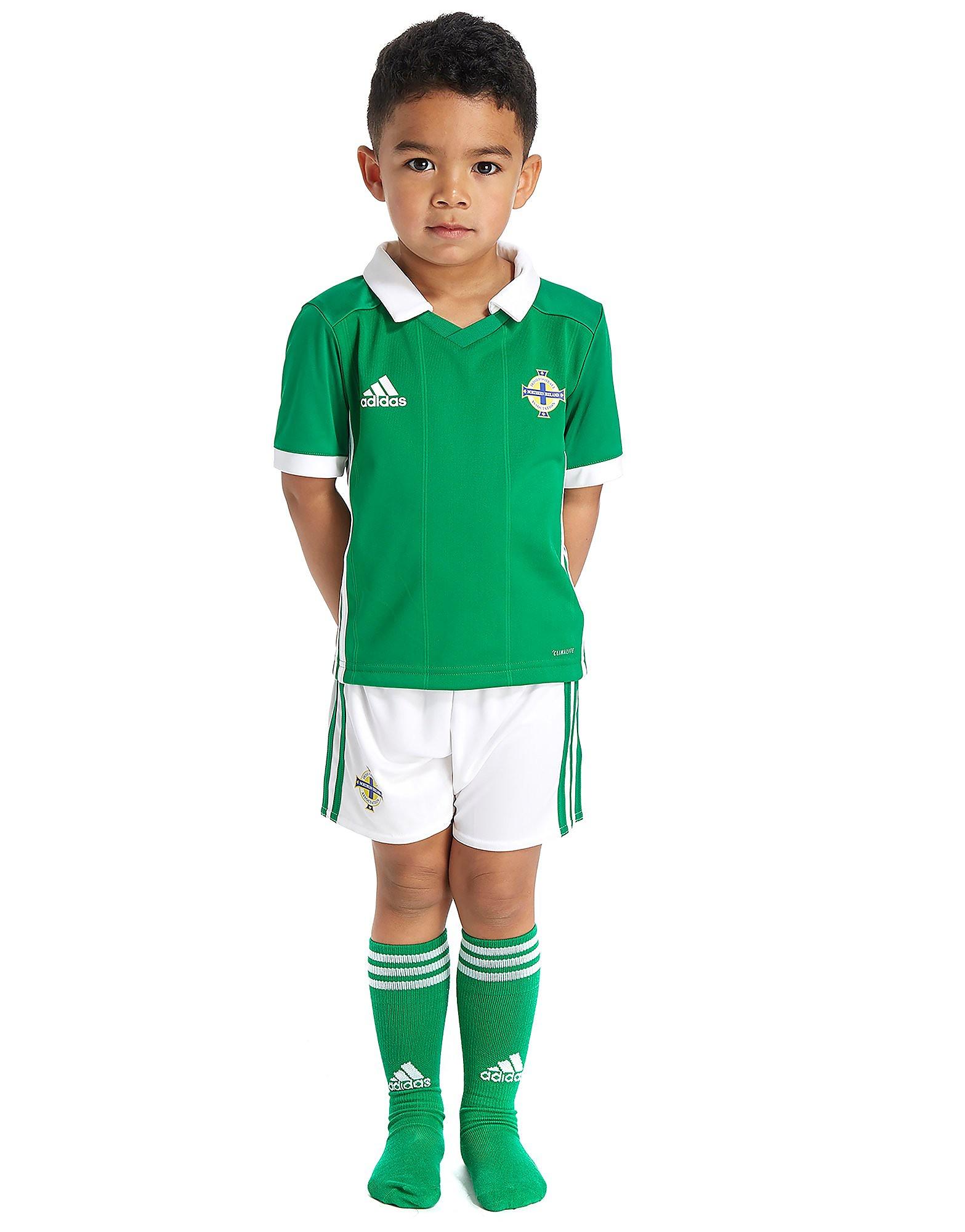 adidas Northern Ireland 2017/18 Home Kit Children