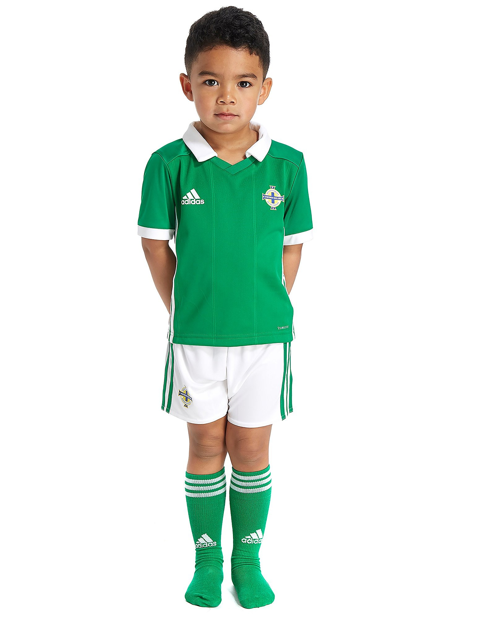 adidas Northern Ireland 2017/18 Home Kit Children PRE ORD