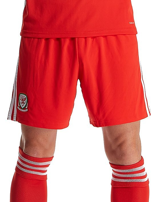 adidas Wales 2017/18 Home Shorts PRE ORDER