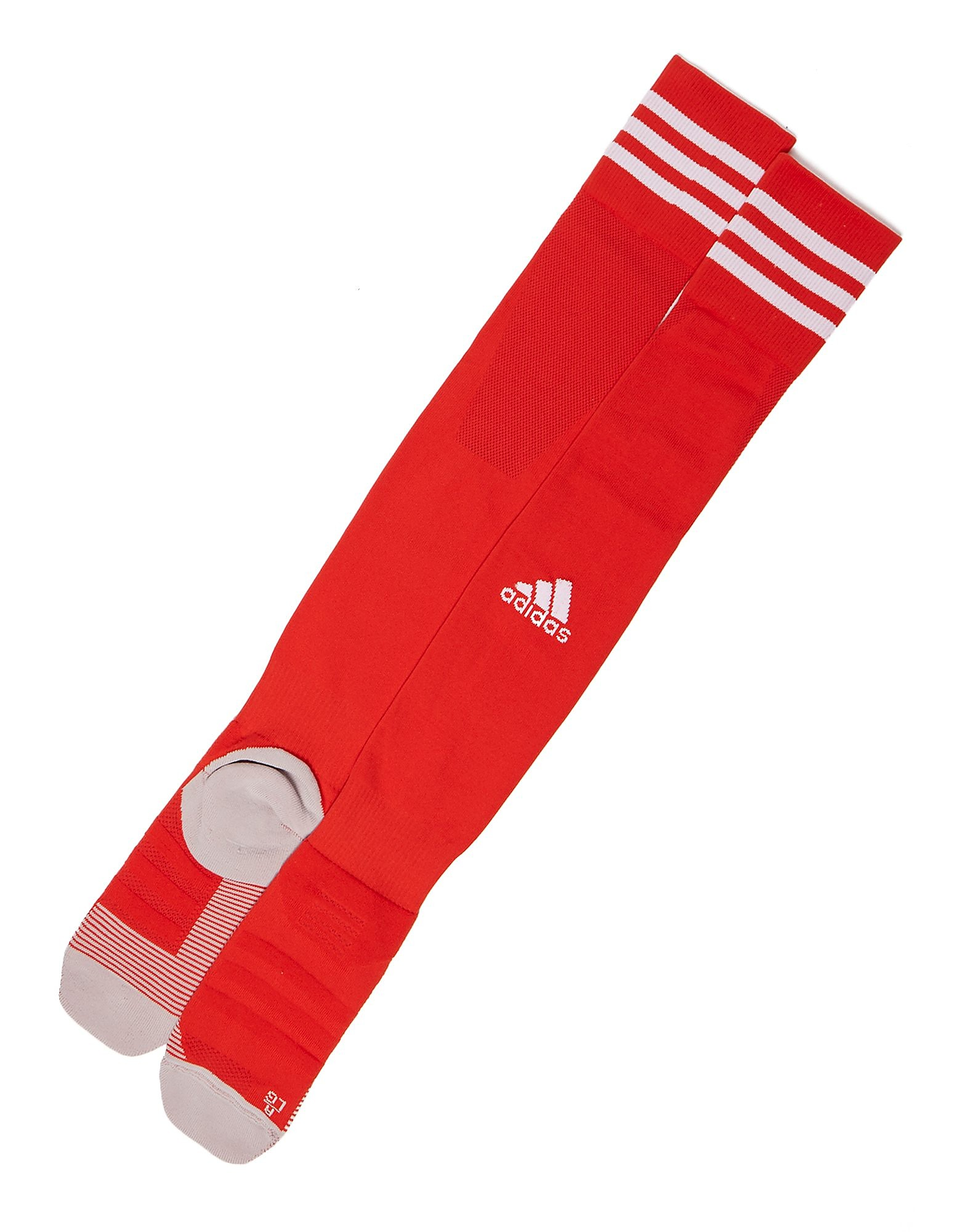 adidas Wales 2018/19 Home Socks - Rood - Heren