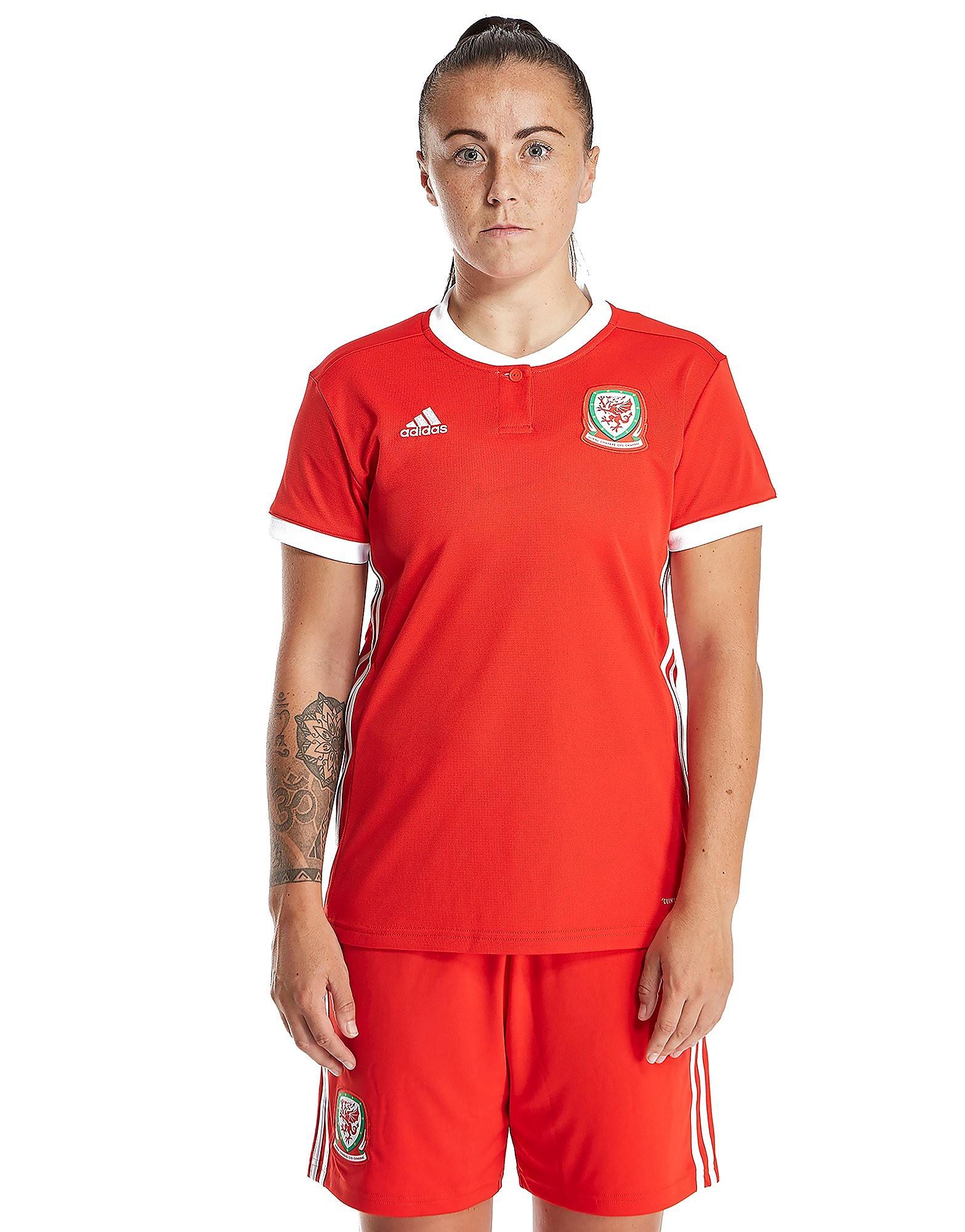 adidas Wales 2017/18 Home Shirt Womens PRE ORDER