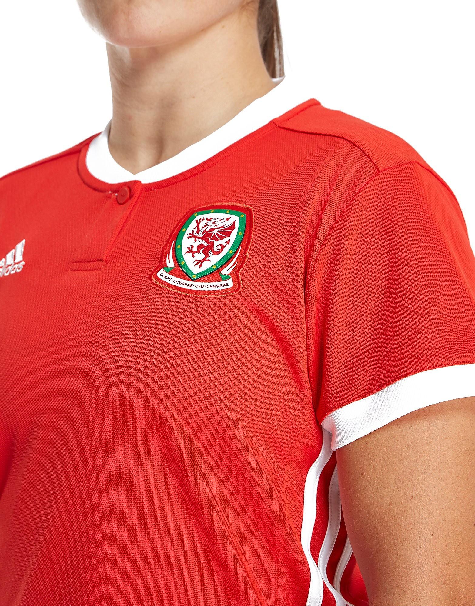adidas Wales 2017/18 Home Shirt Women's