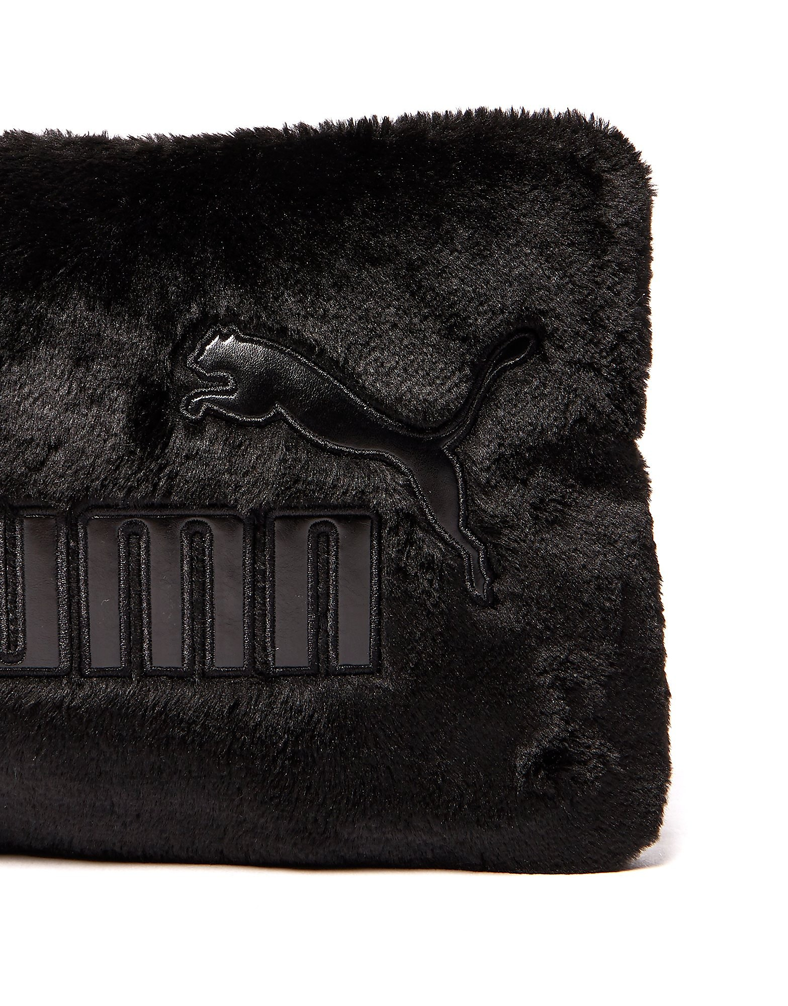 PUMA Faux Fur Clutch