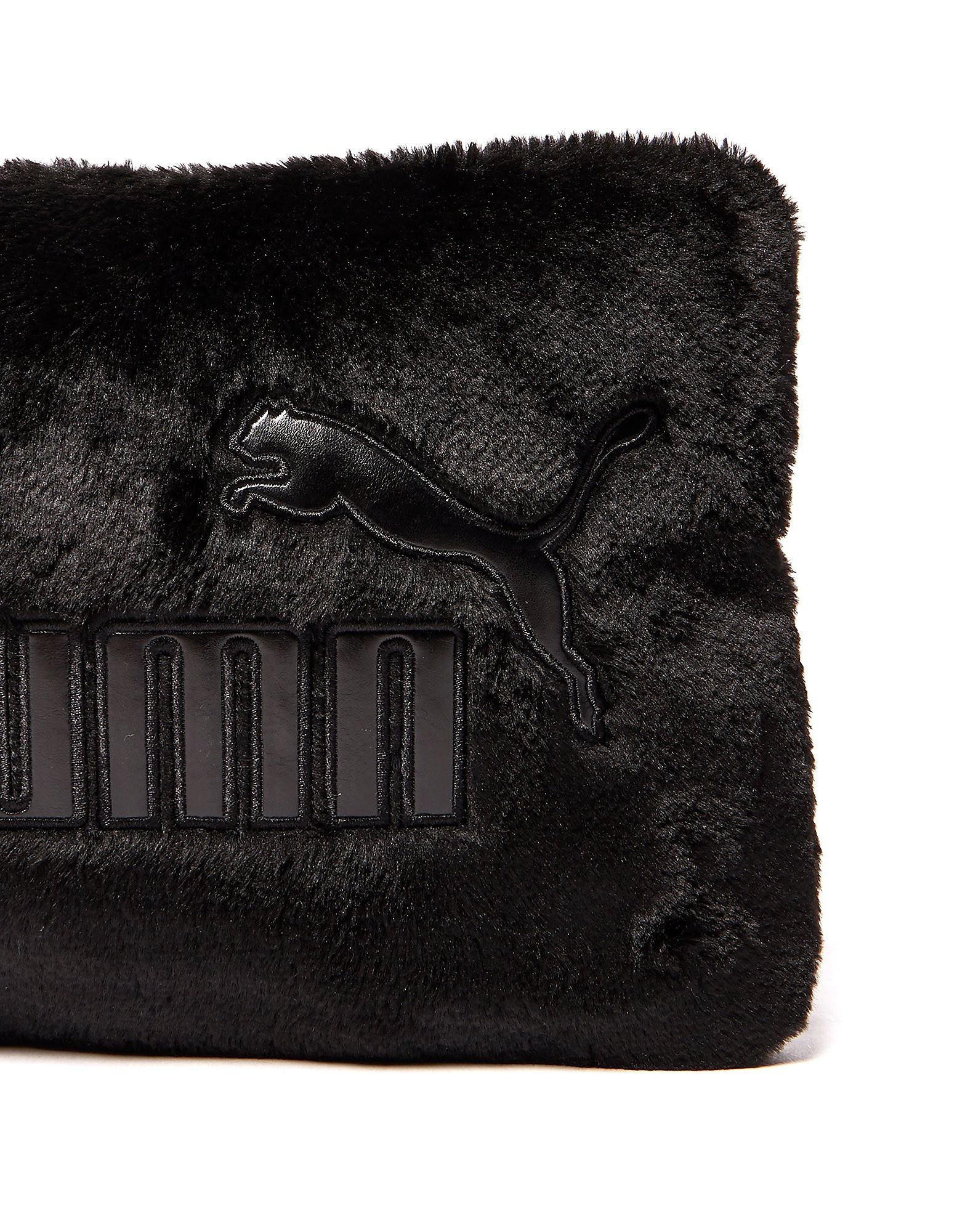 PUMA Faux Fur Clutch