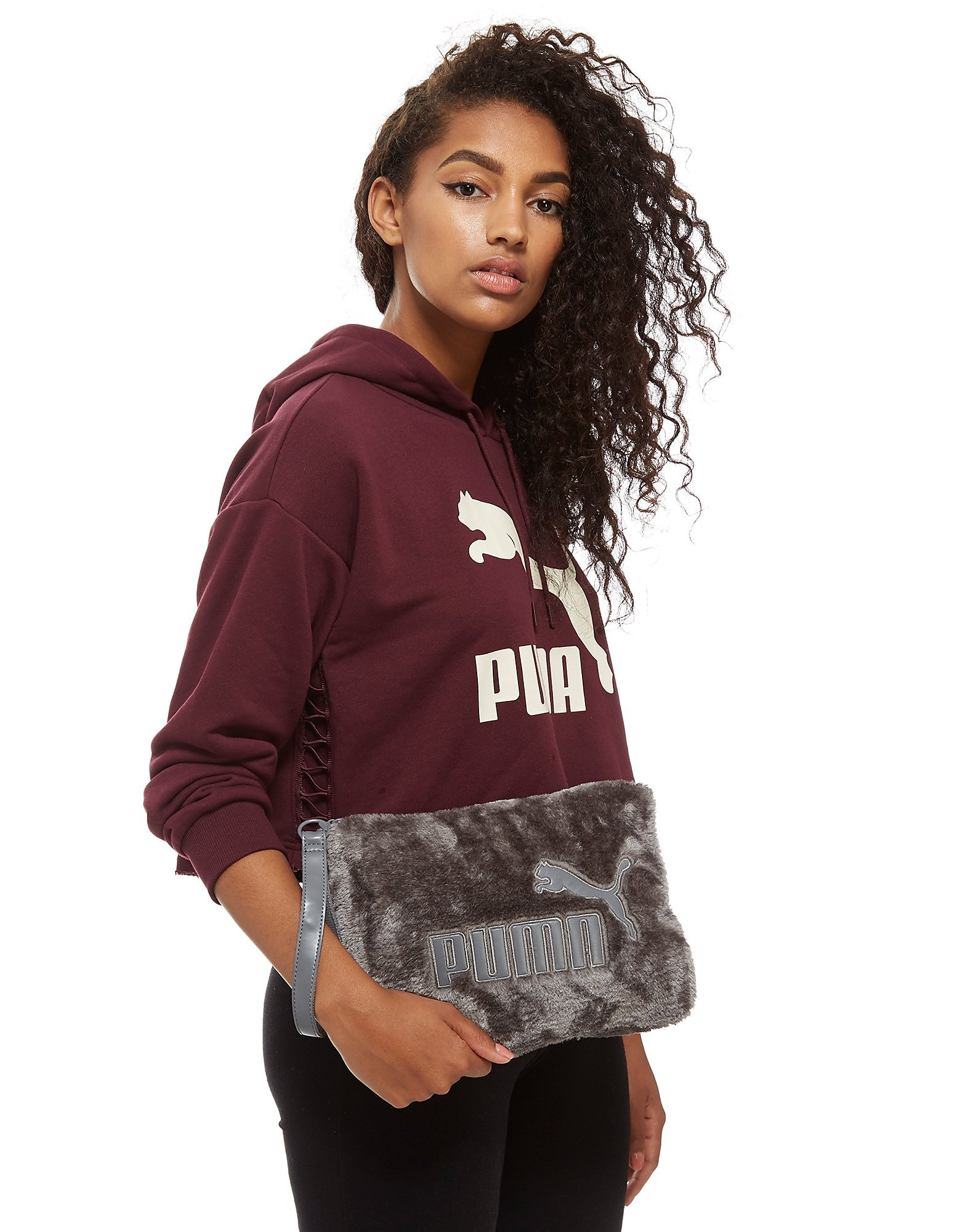 PUMA Fur Clutch Bag