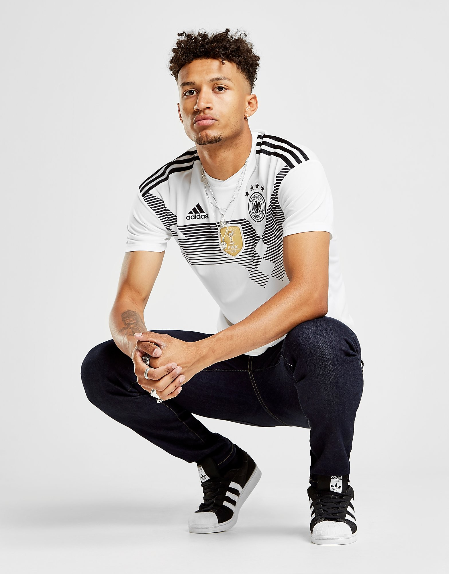 adidas Germany 2017/18 Home Shirt