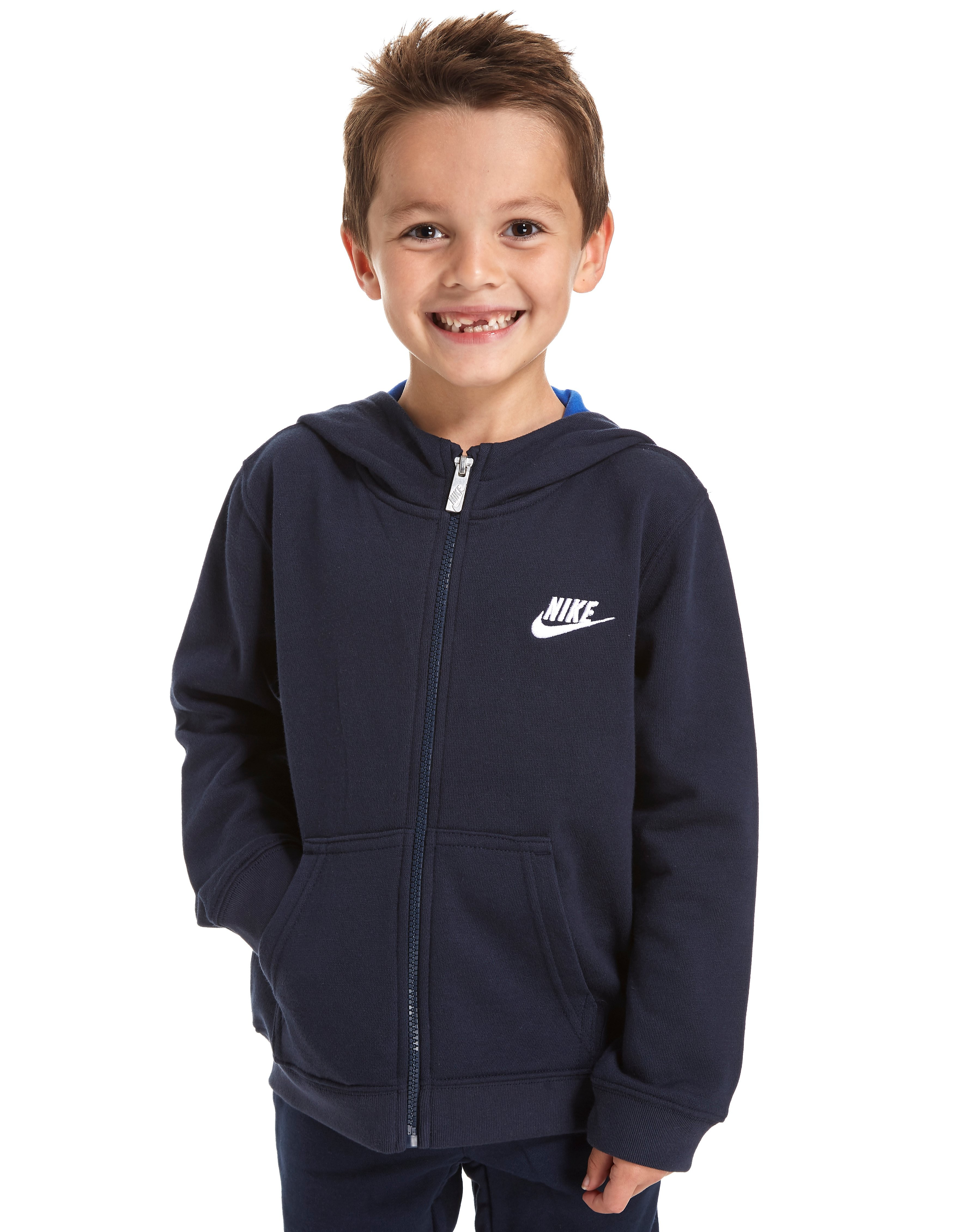 Nike Club Full Zip Hoody Children