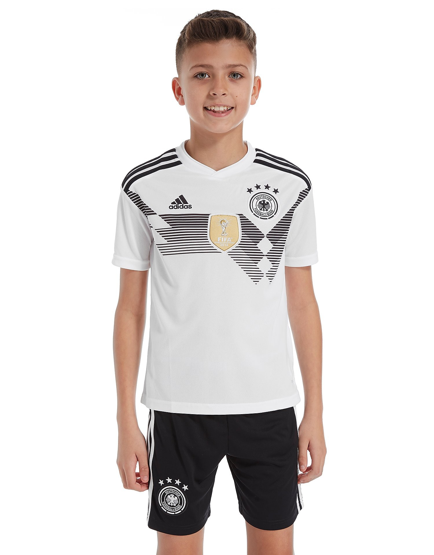 adidas Germany 2017/18 Home Shirt Junior