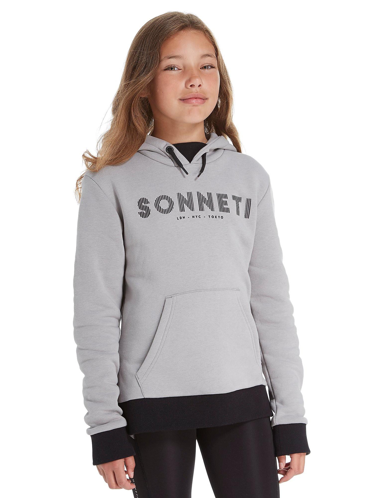 Sonneti Girls' Slice Crop Hoodie Junior