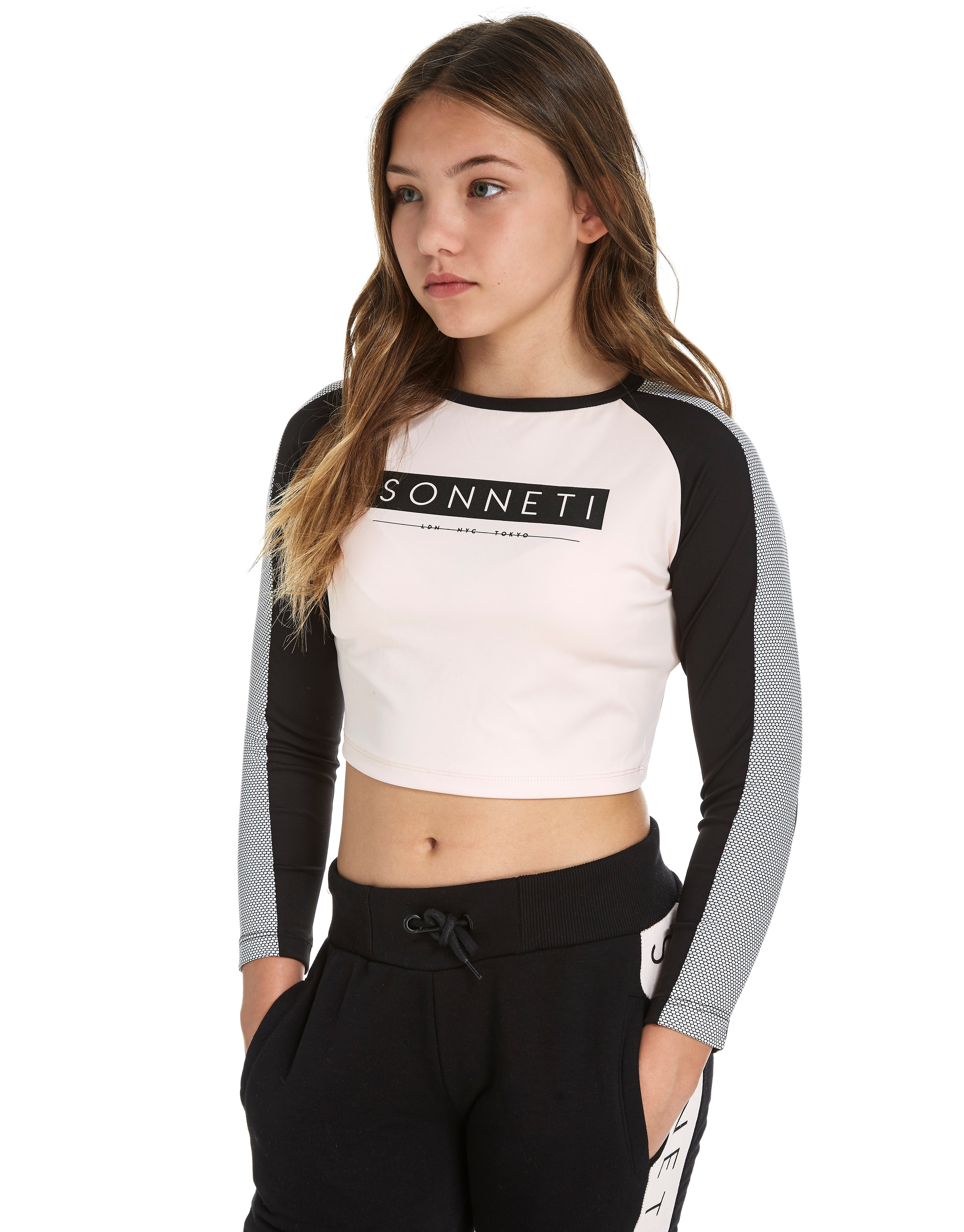 Sonneti Girls' Blocker Long Sleeve T-Shirt Junior