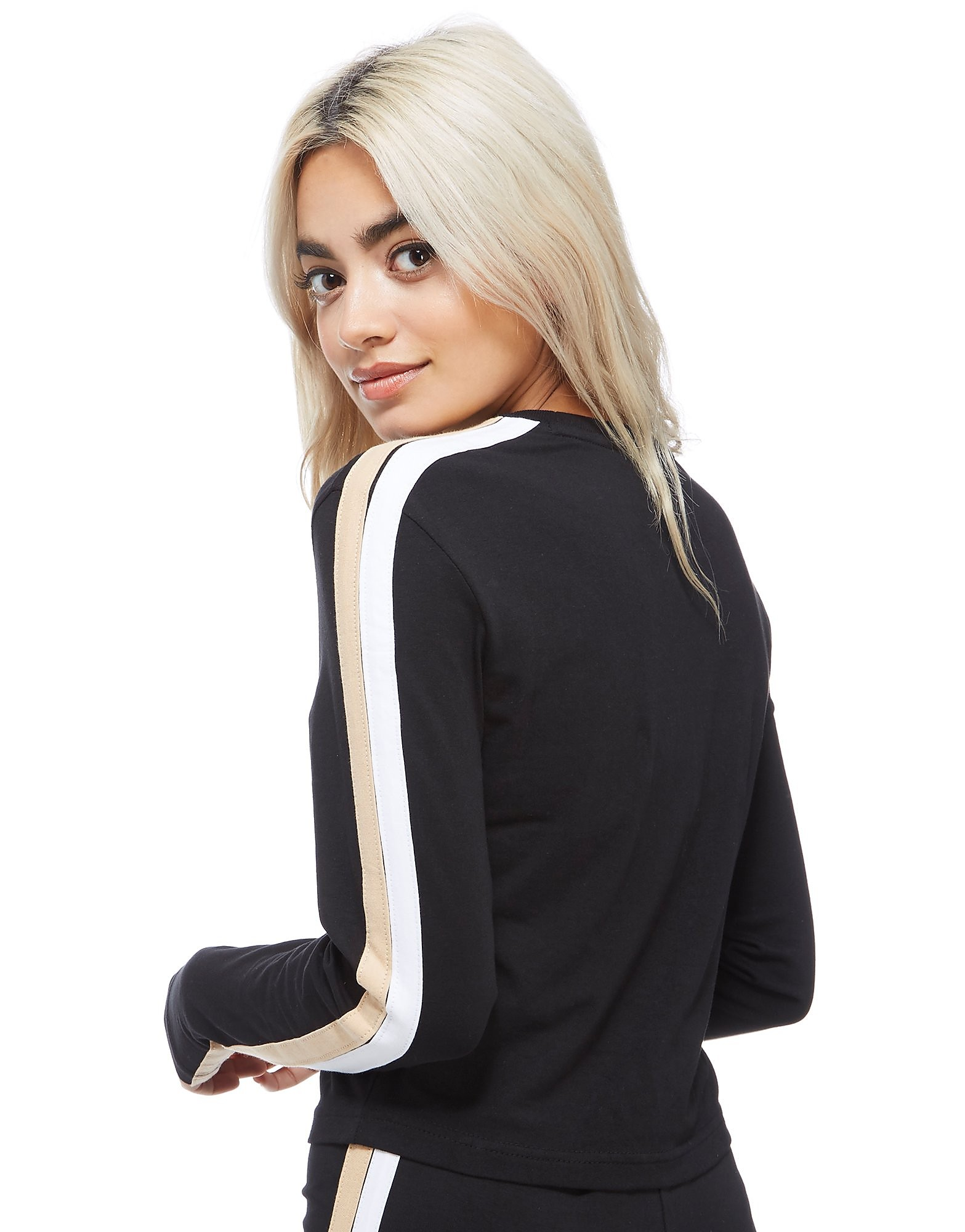 Fila Long Sleeve Crop Top
