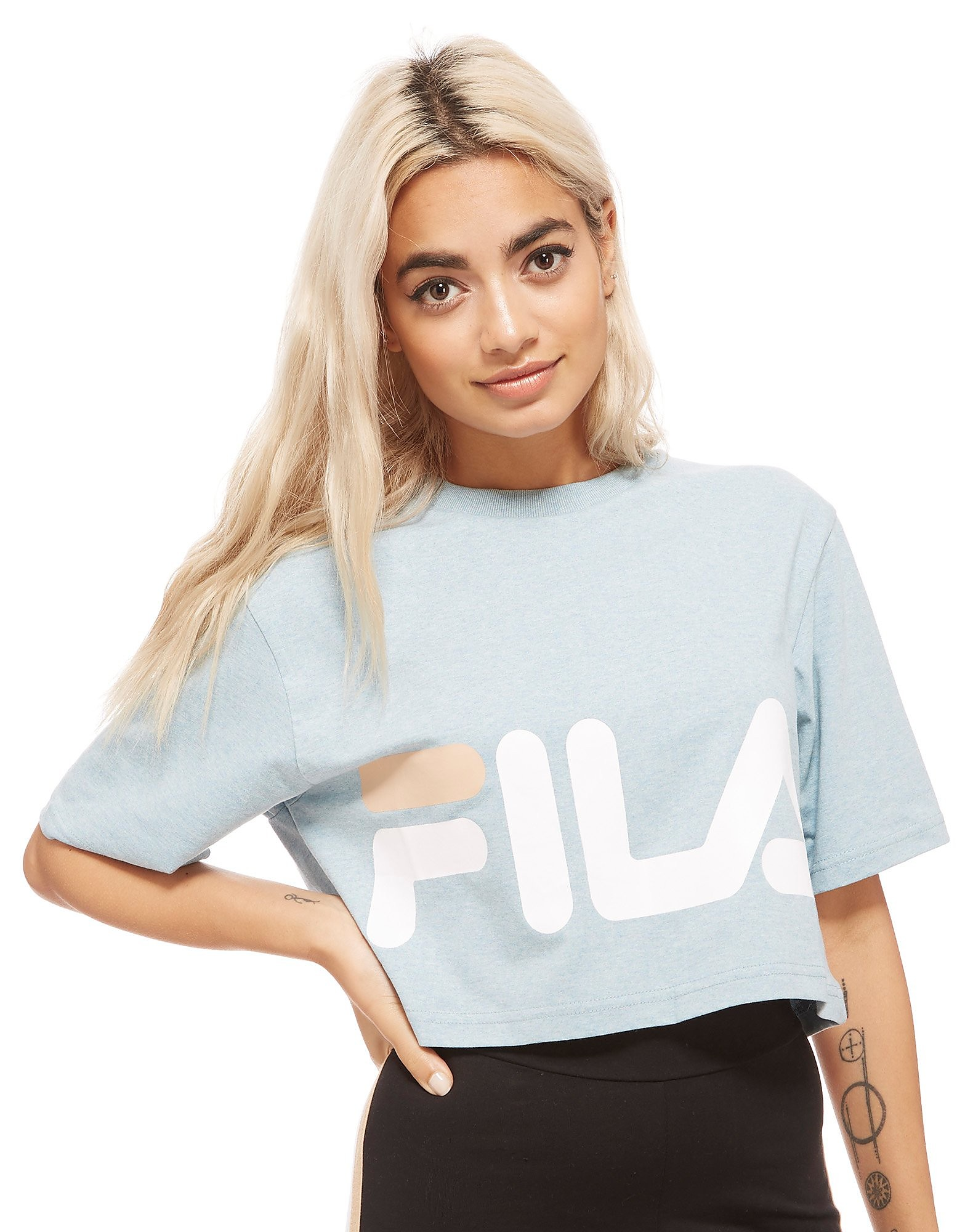 Fila Chanda Crop Top Dames