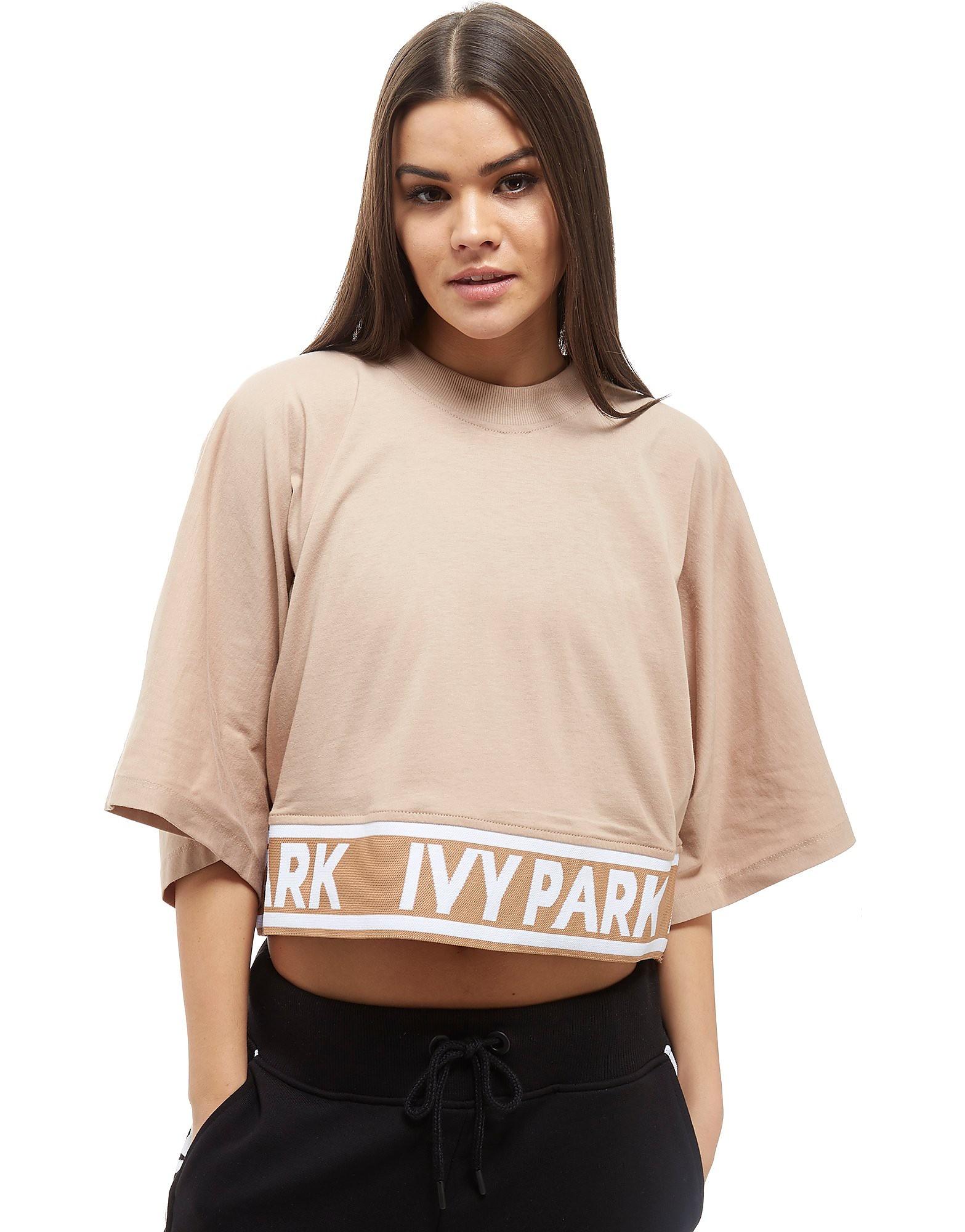 IVY PARK Tape Crop T-Shirt