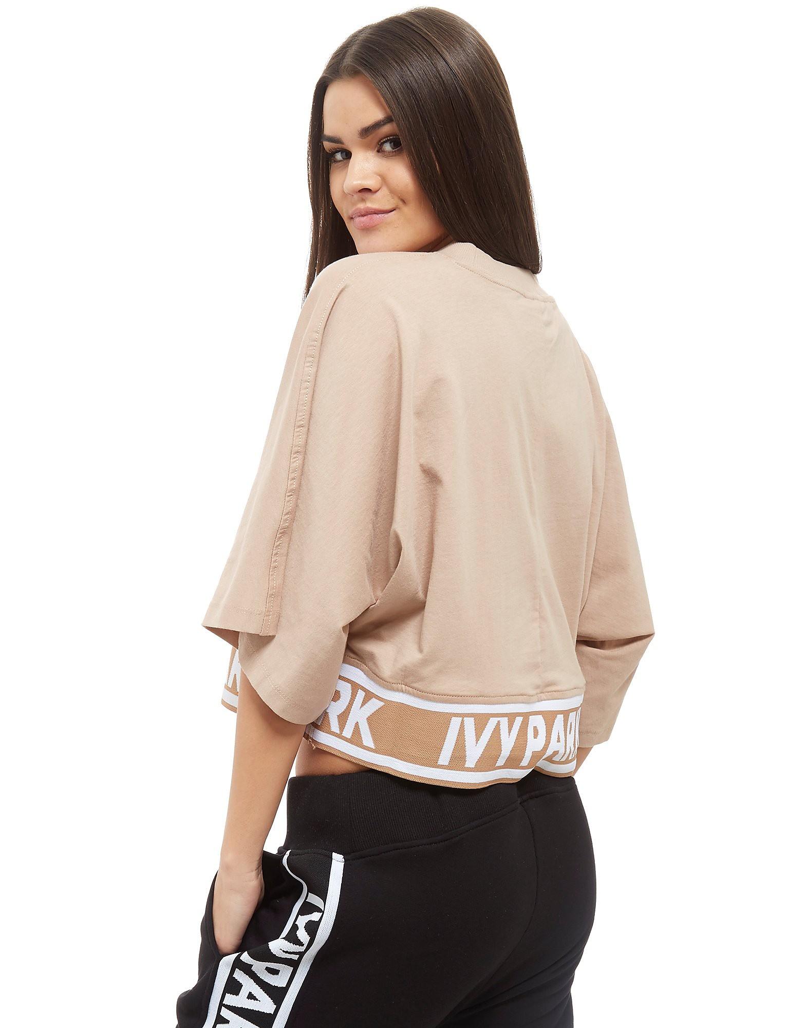 IVY PARK Tape Crop T-Shirt Dames