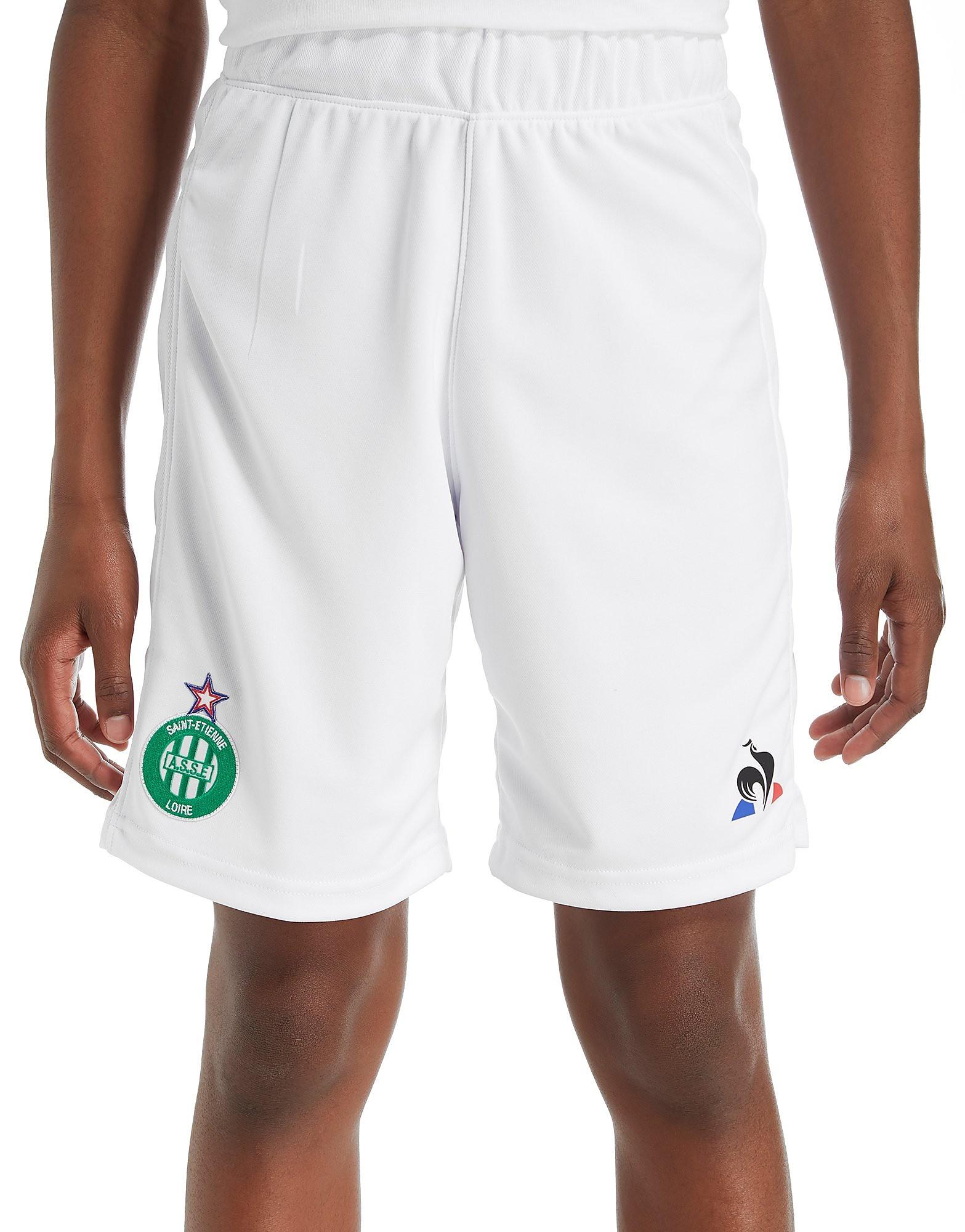 Le Coq Sportif AS Saint Etienne 2017/18 Home Shorts Junior