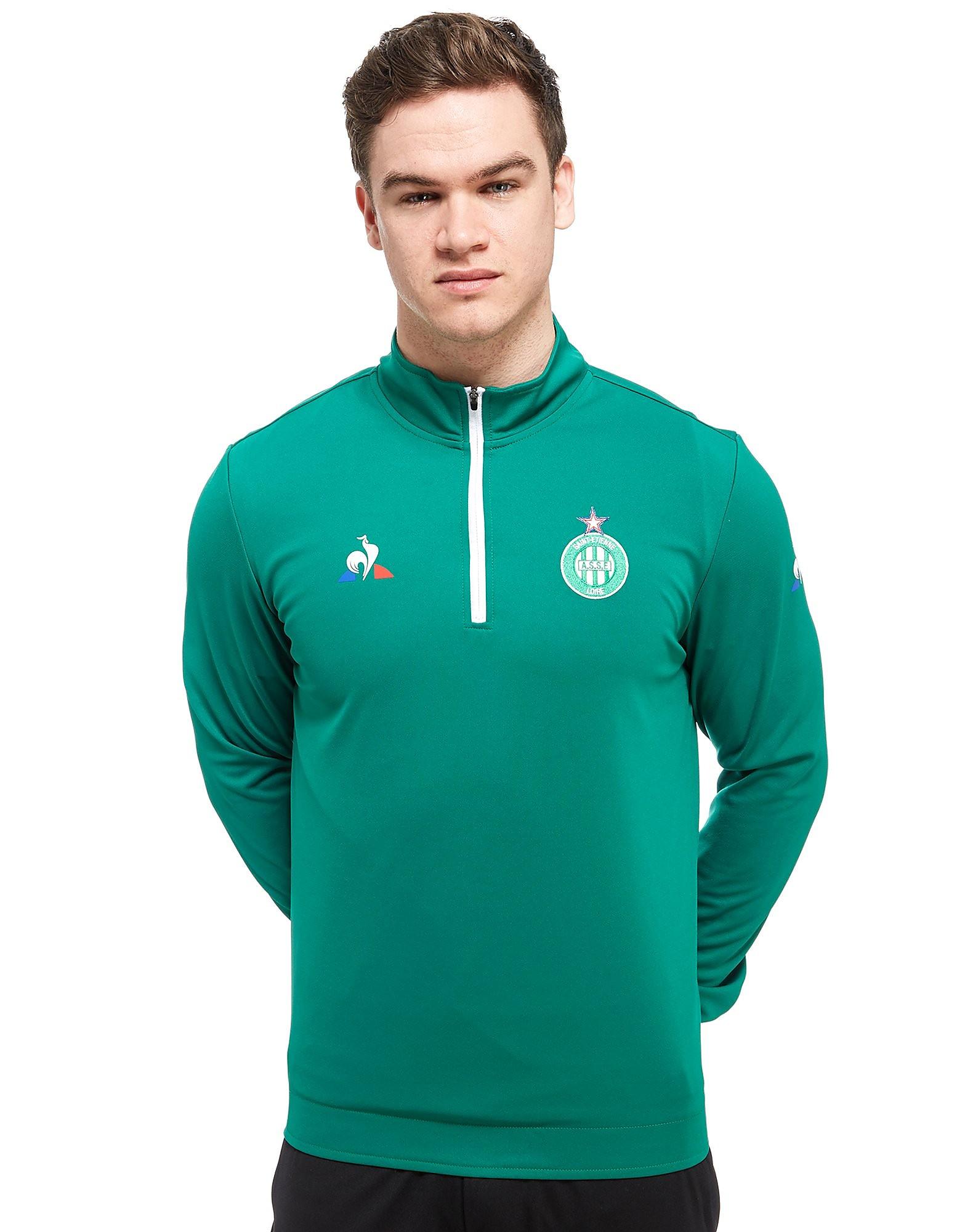 Le Coq Sportif AS Saint Etienne 1/2 Zip Sweater