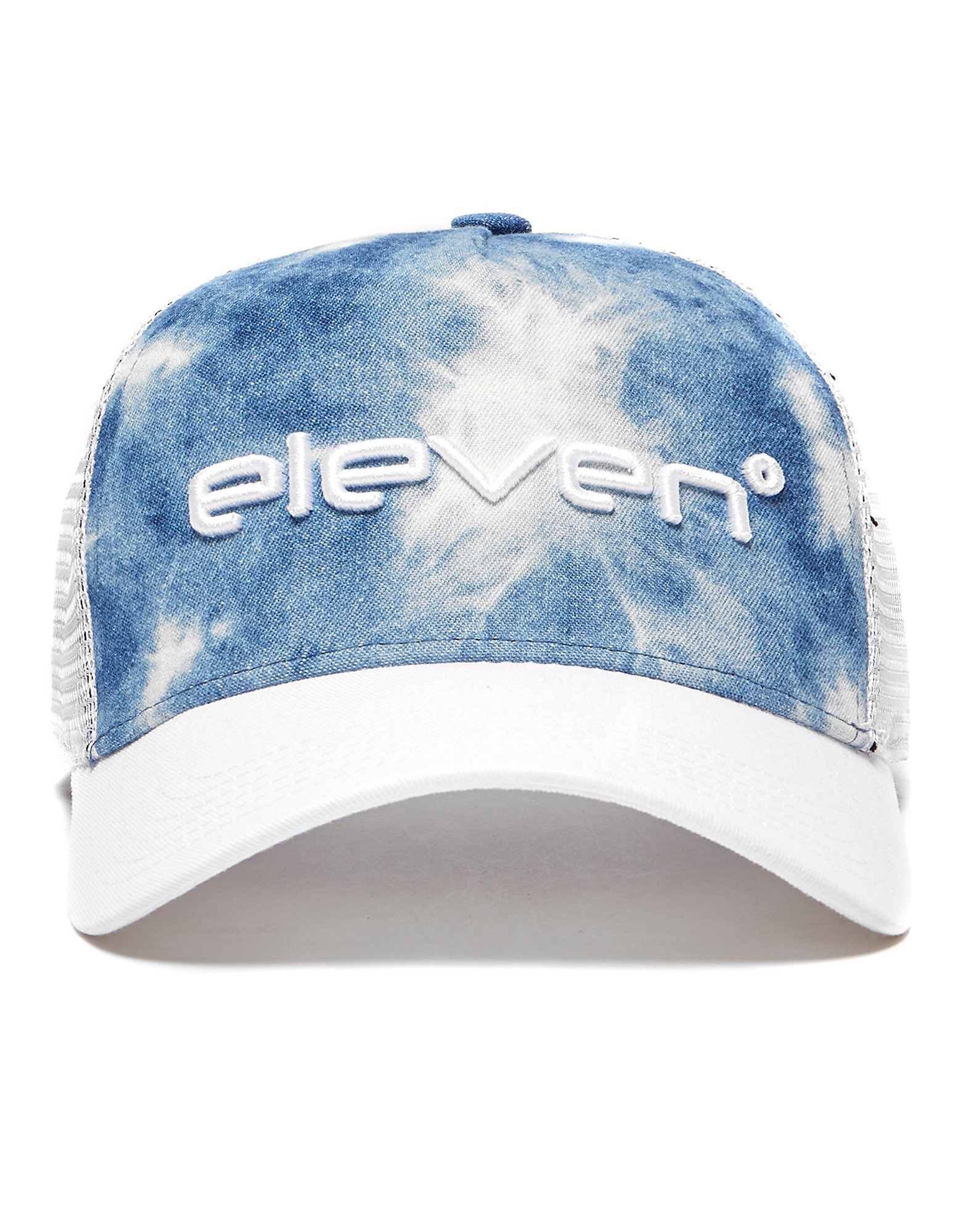 Image de 11 Degrees Casquette Trucker Homme - Denim, Denim