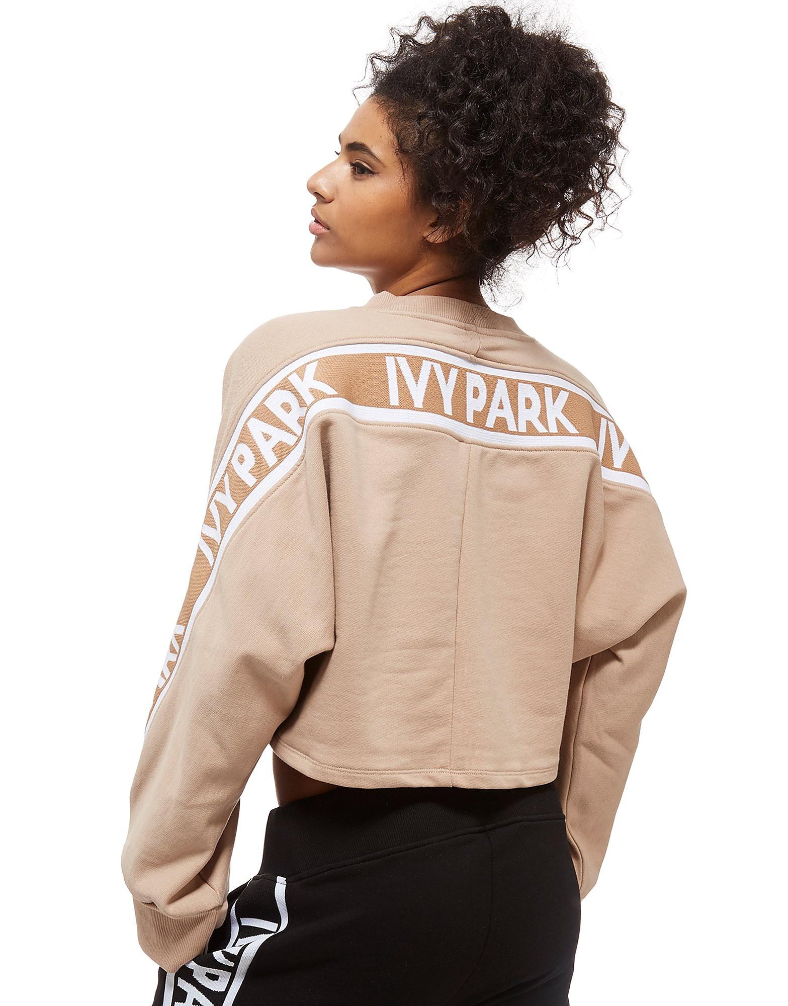 IVY PARK Logo Tape Crew Sweatshirt Dames