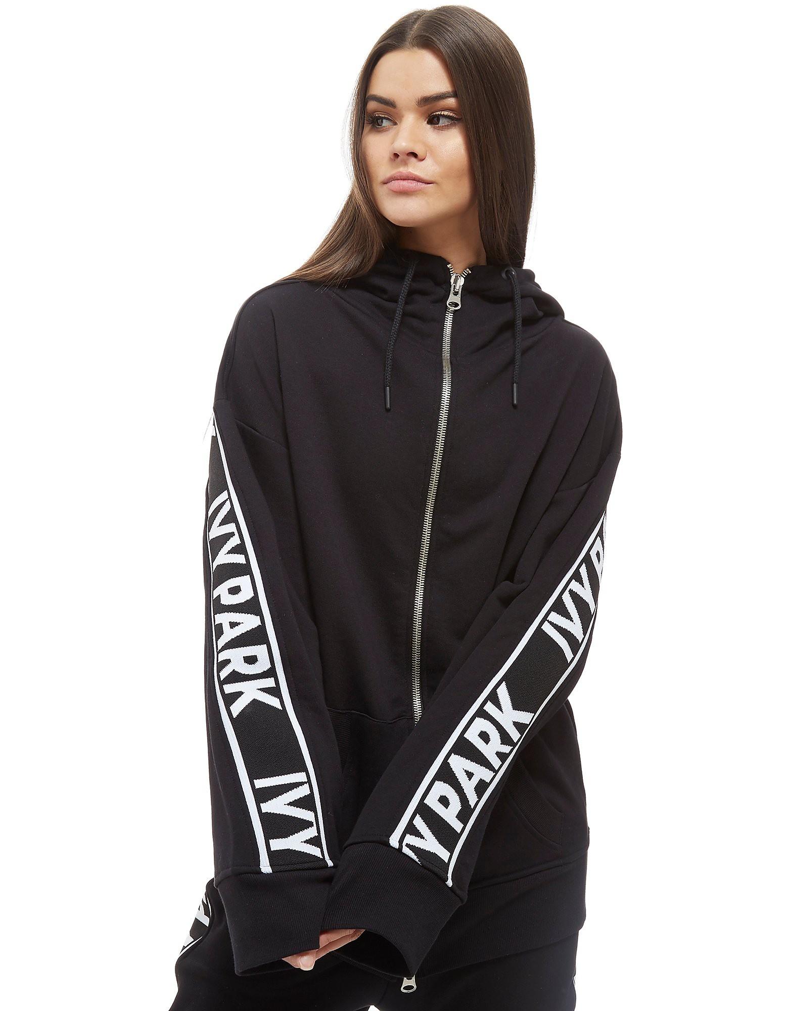 IVY PARK Logo Tape Full Zip Hoodie Dames