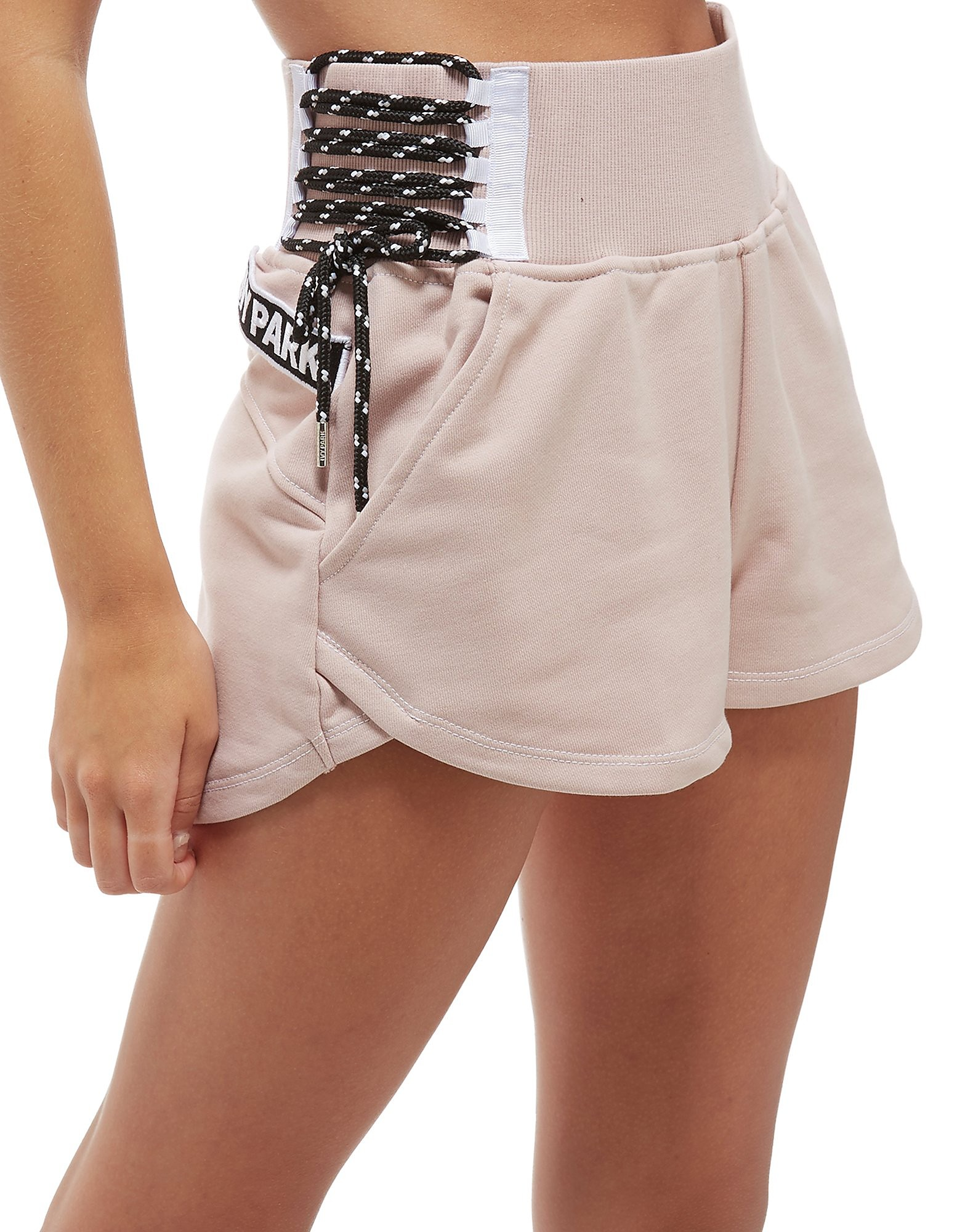 IVY PARK Lace Up Shorts
