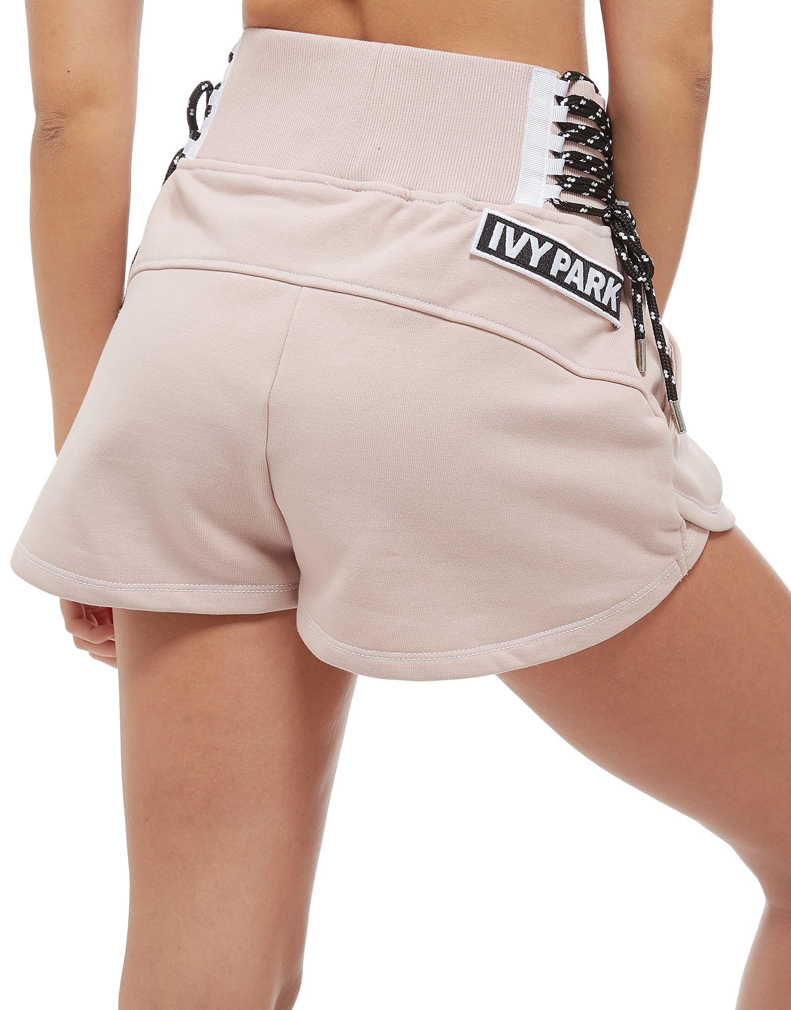 IVY PARK Lace Up Shorts