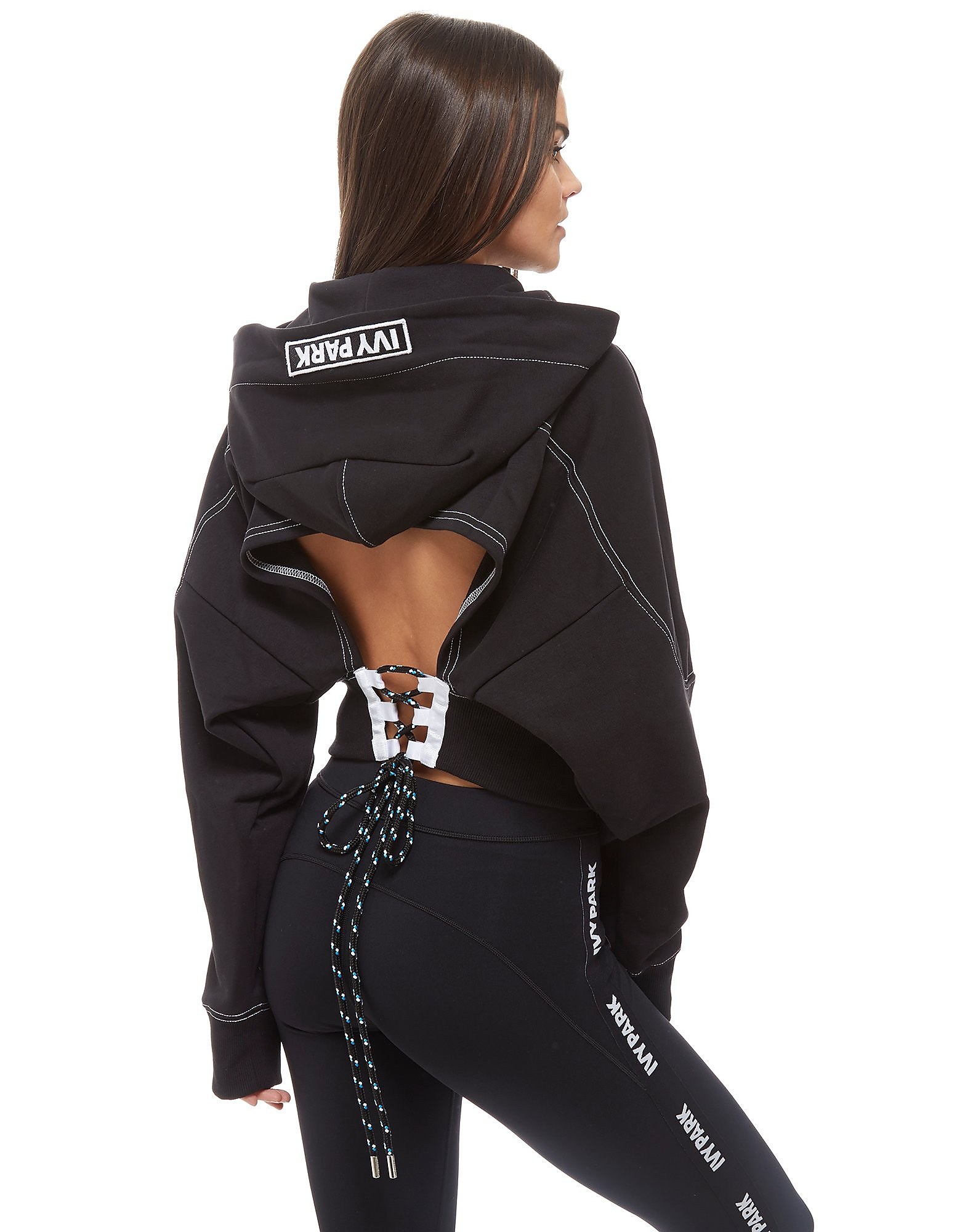IVY PARK Lace Up Back Hoodie