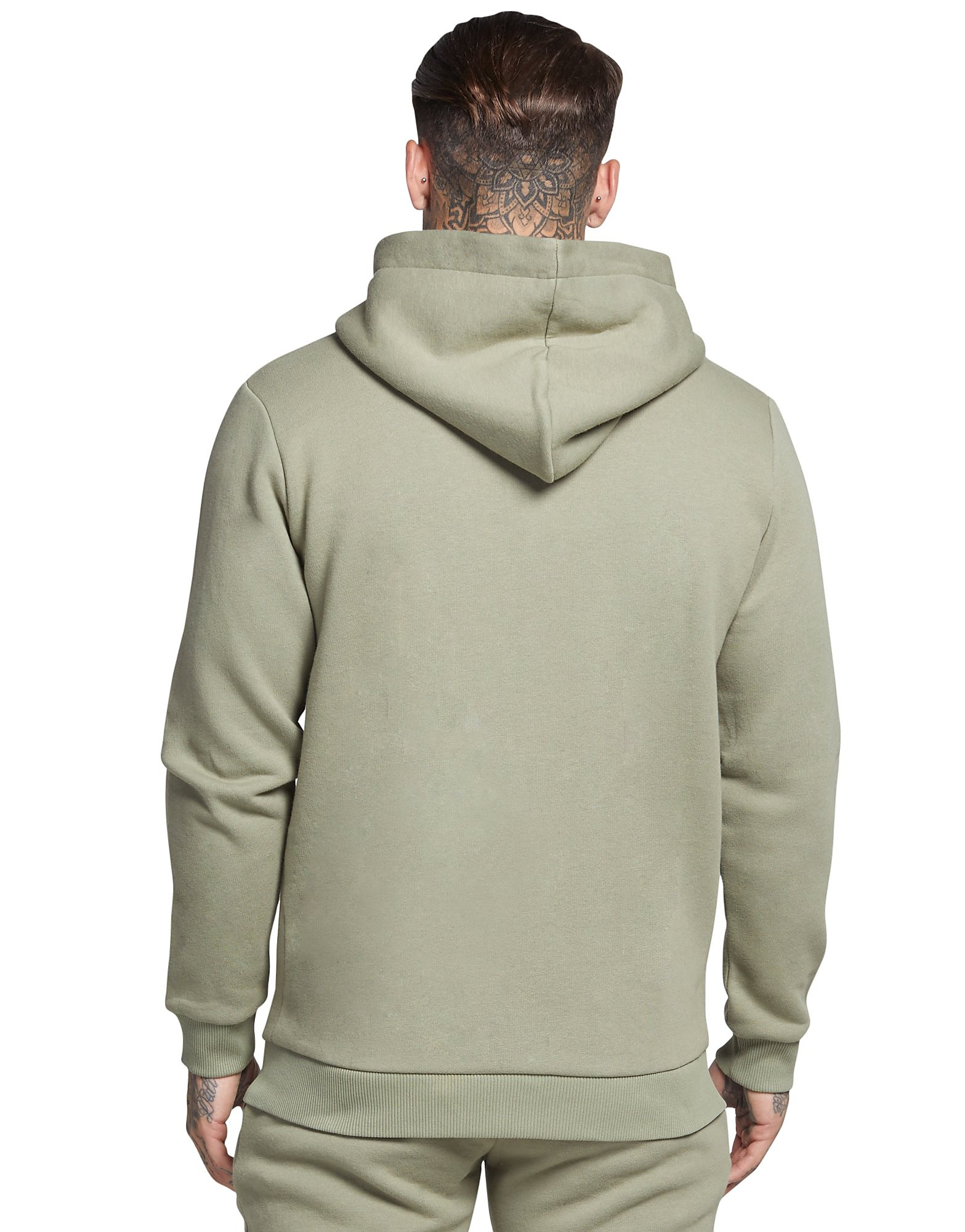 SikSilk Zip Through Core Fleece Hoody