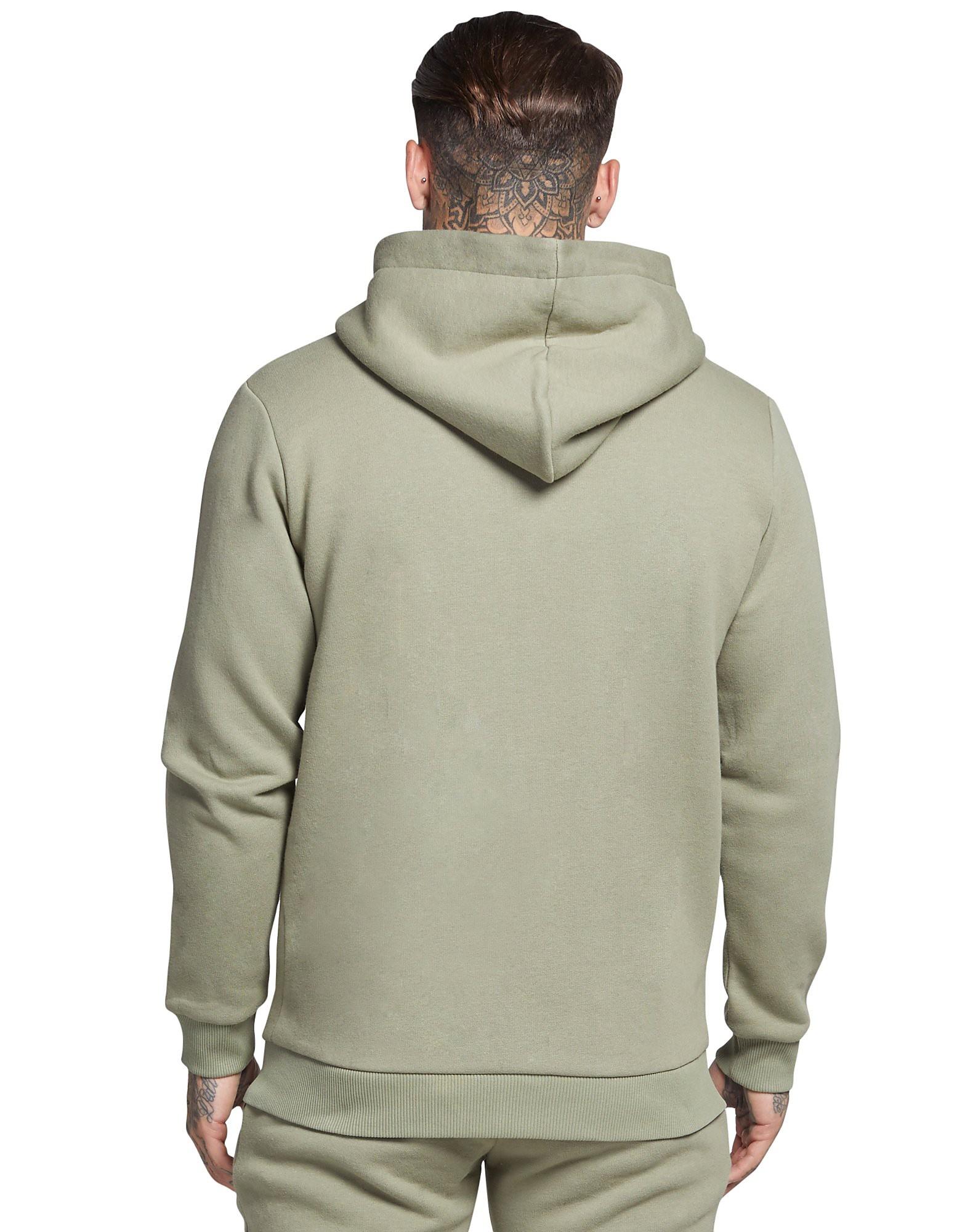 SikSilk Zip Through Core Fleece Hoody