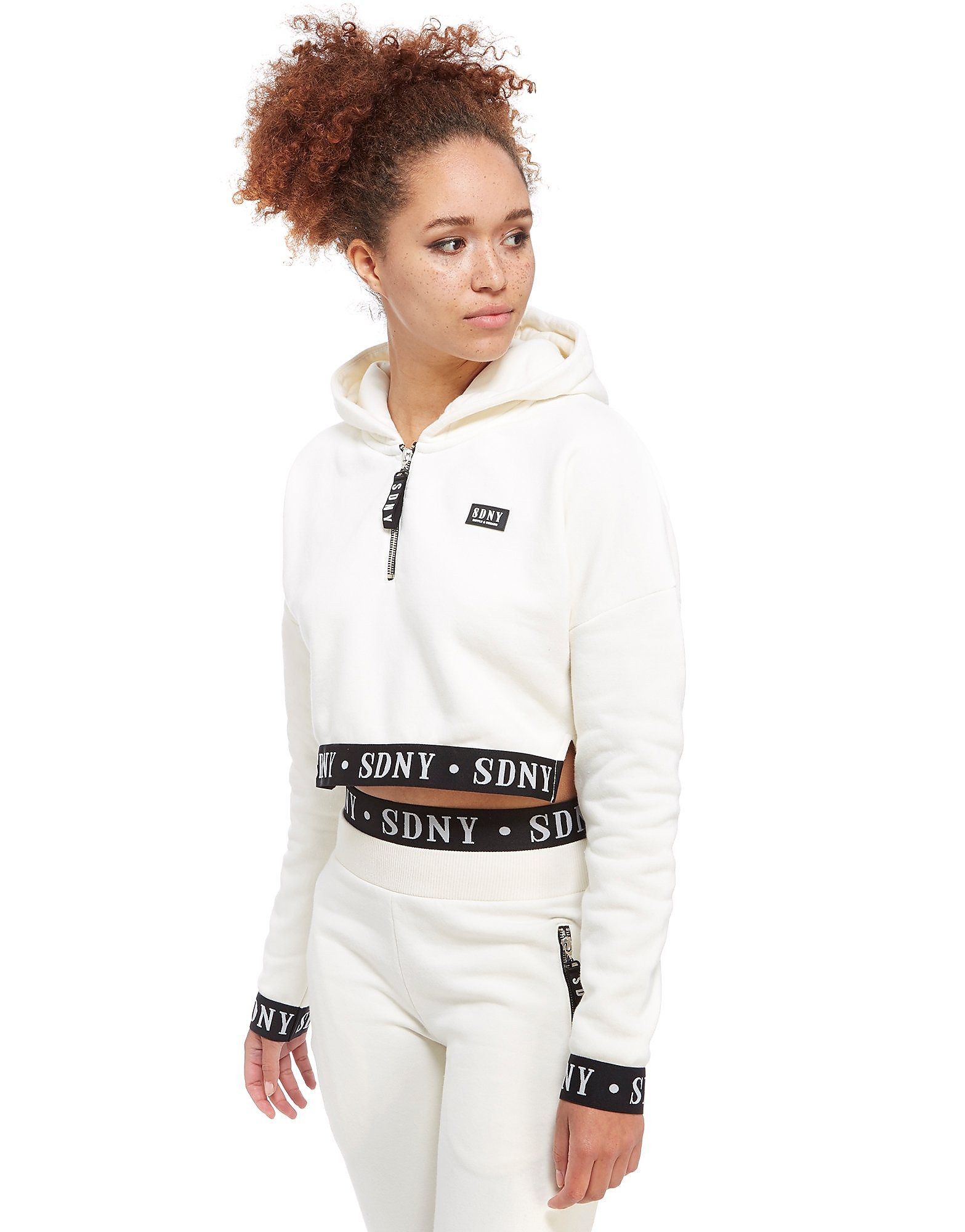 Supply & Demand Boxy Tape Half Zip Hoody