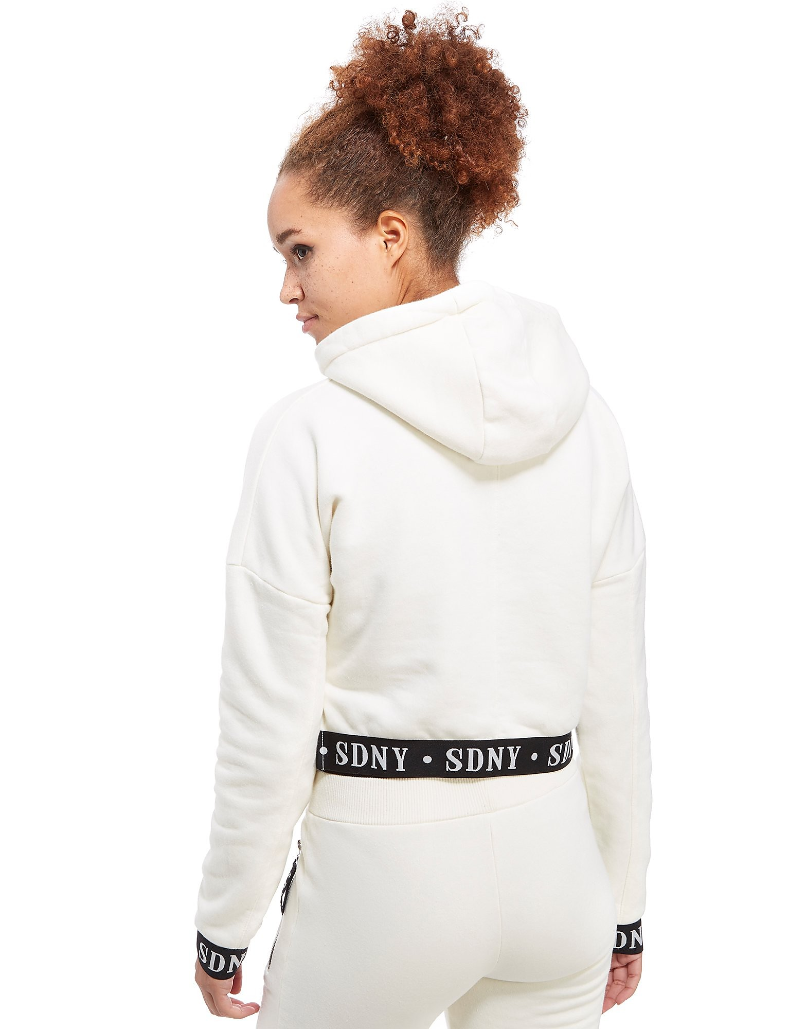Supply & Demand Boxy Tape Half Zip Hoodie
