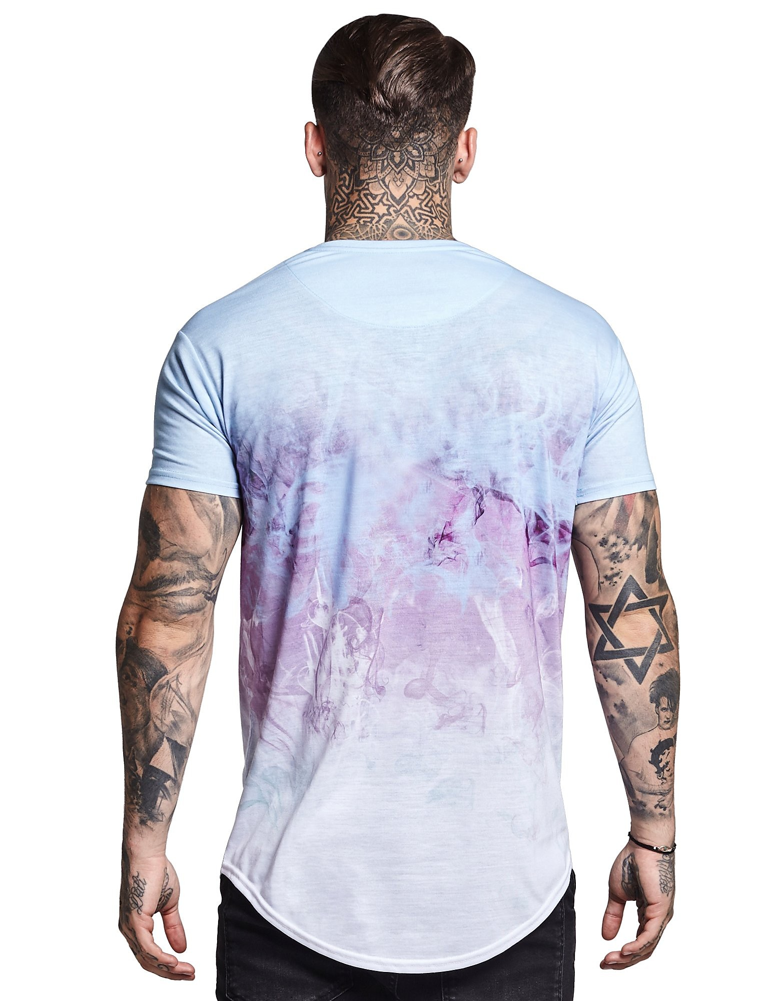 SikSilk Watercool Fade T-Shirt