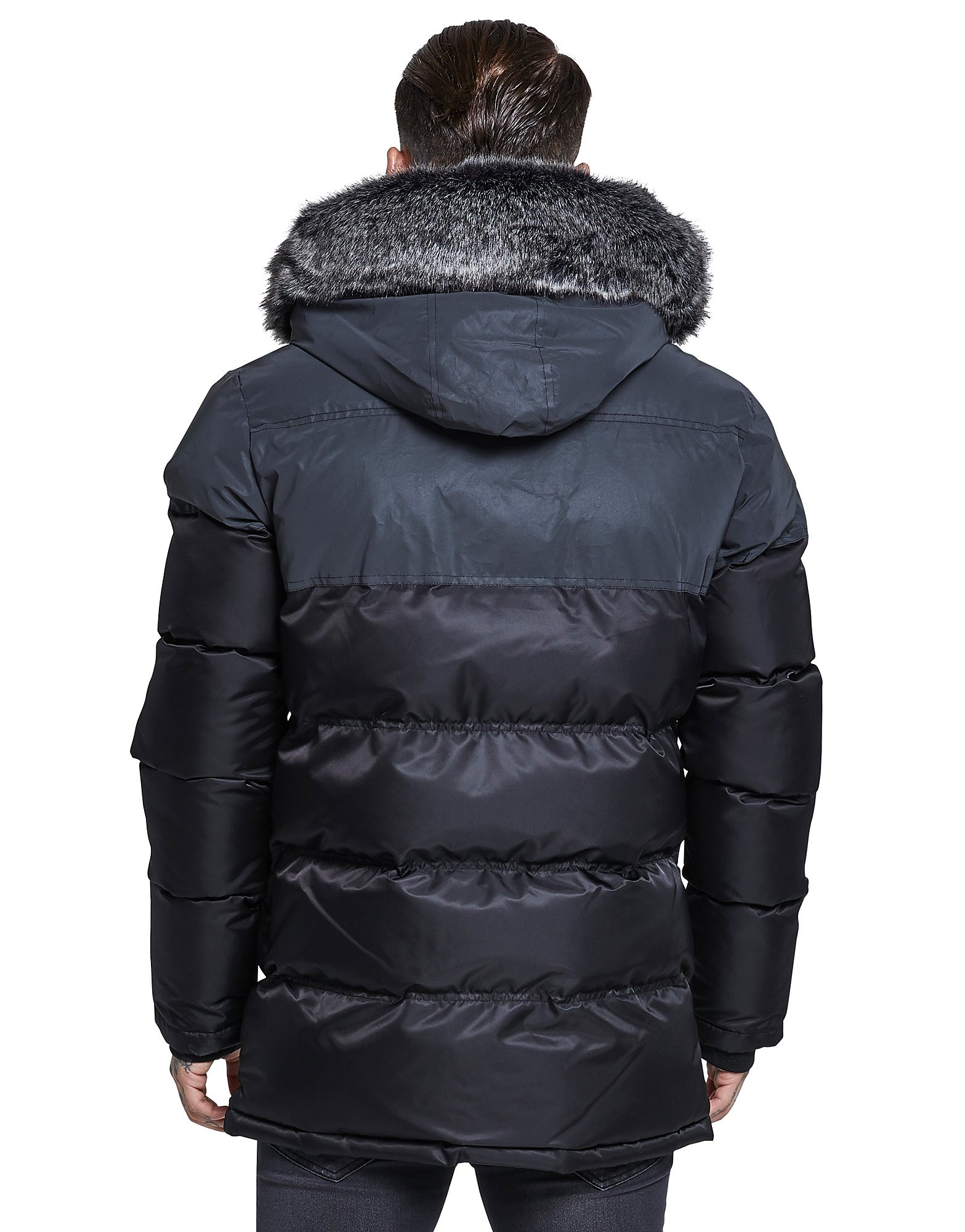 SikSilk Reflective Panel Parka