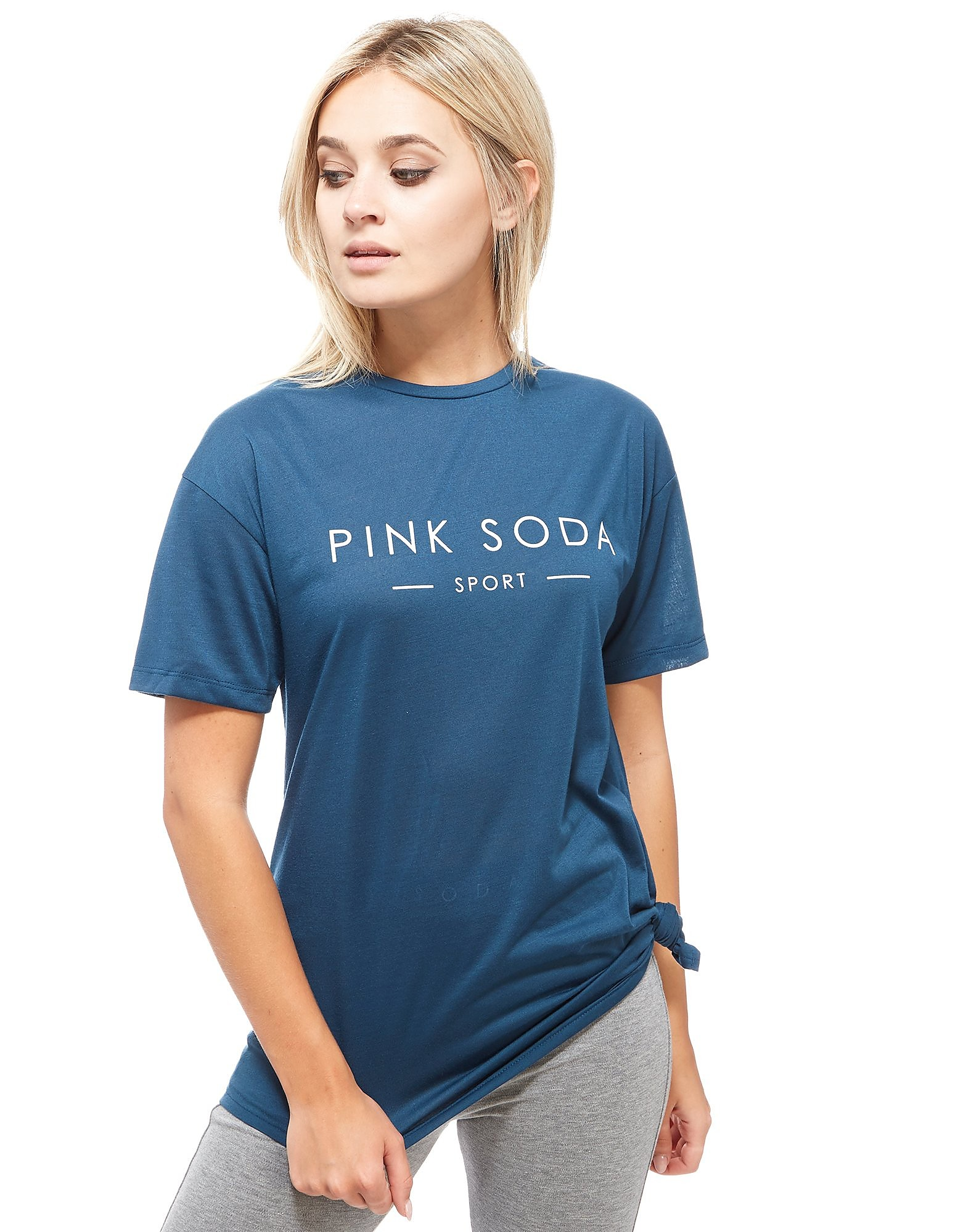 Pink Soda Sport Reps Knot T-Shirt