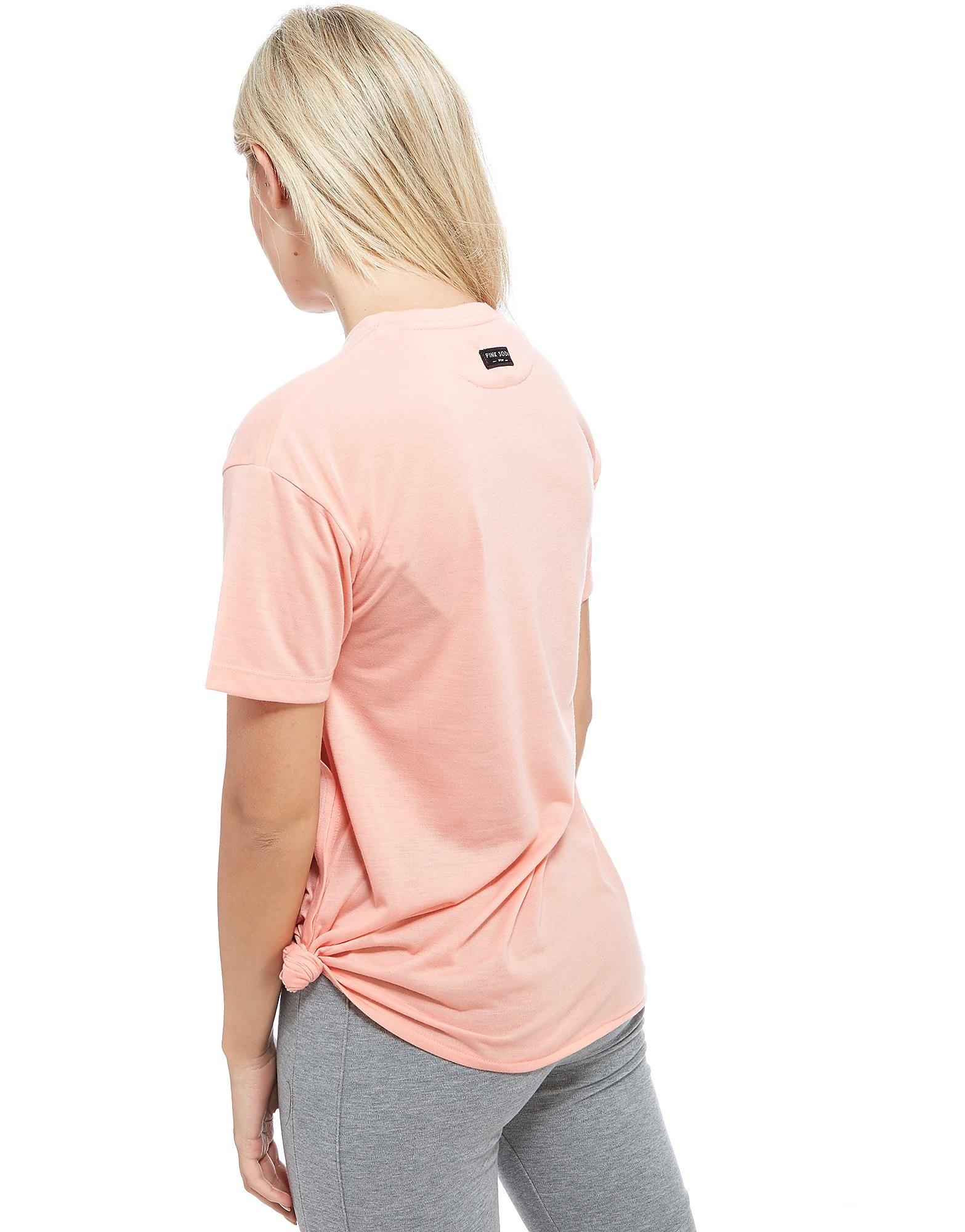 Pink Soda Sport T-shirt Reps Knot Femme