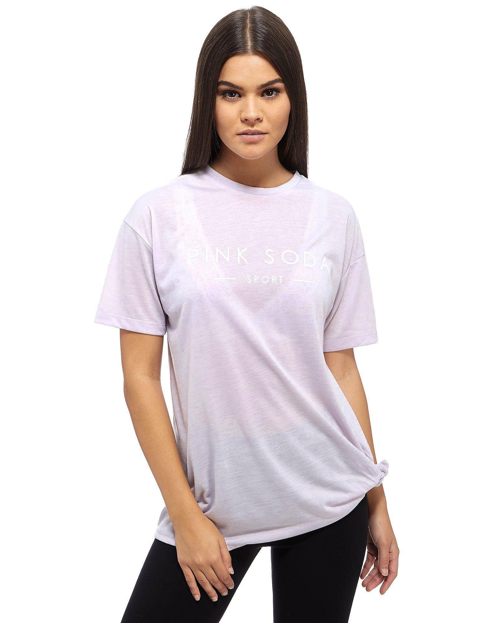 Pink Soda Sport Reps Knot T-Shirt