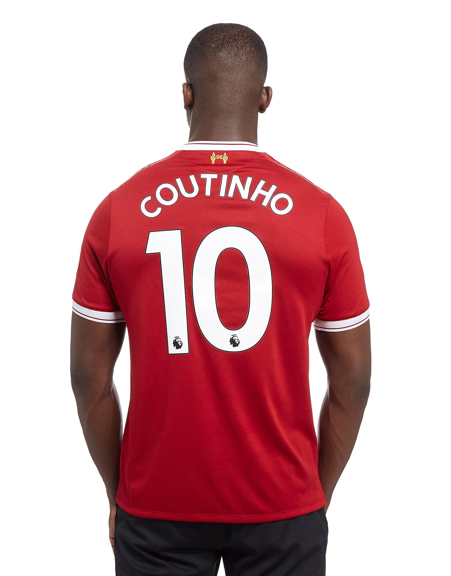 New Balance Liverpool FC Coutinho #10 2017/18 Home Shirt