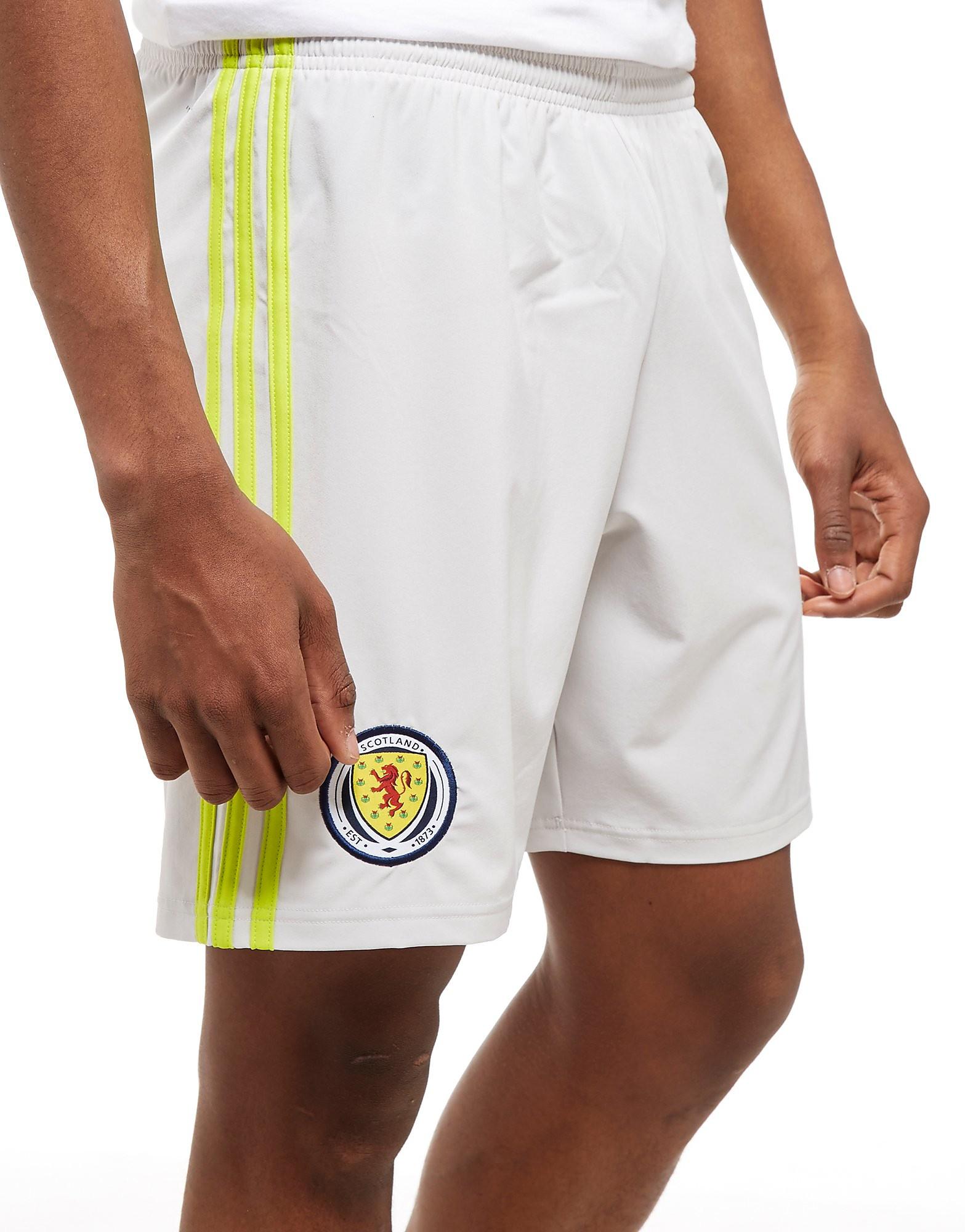 adidas Scotland 2018/19 Home Goalkeeper Shorts - Grijs - Heren