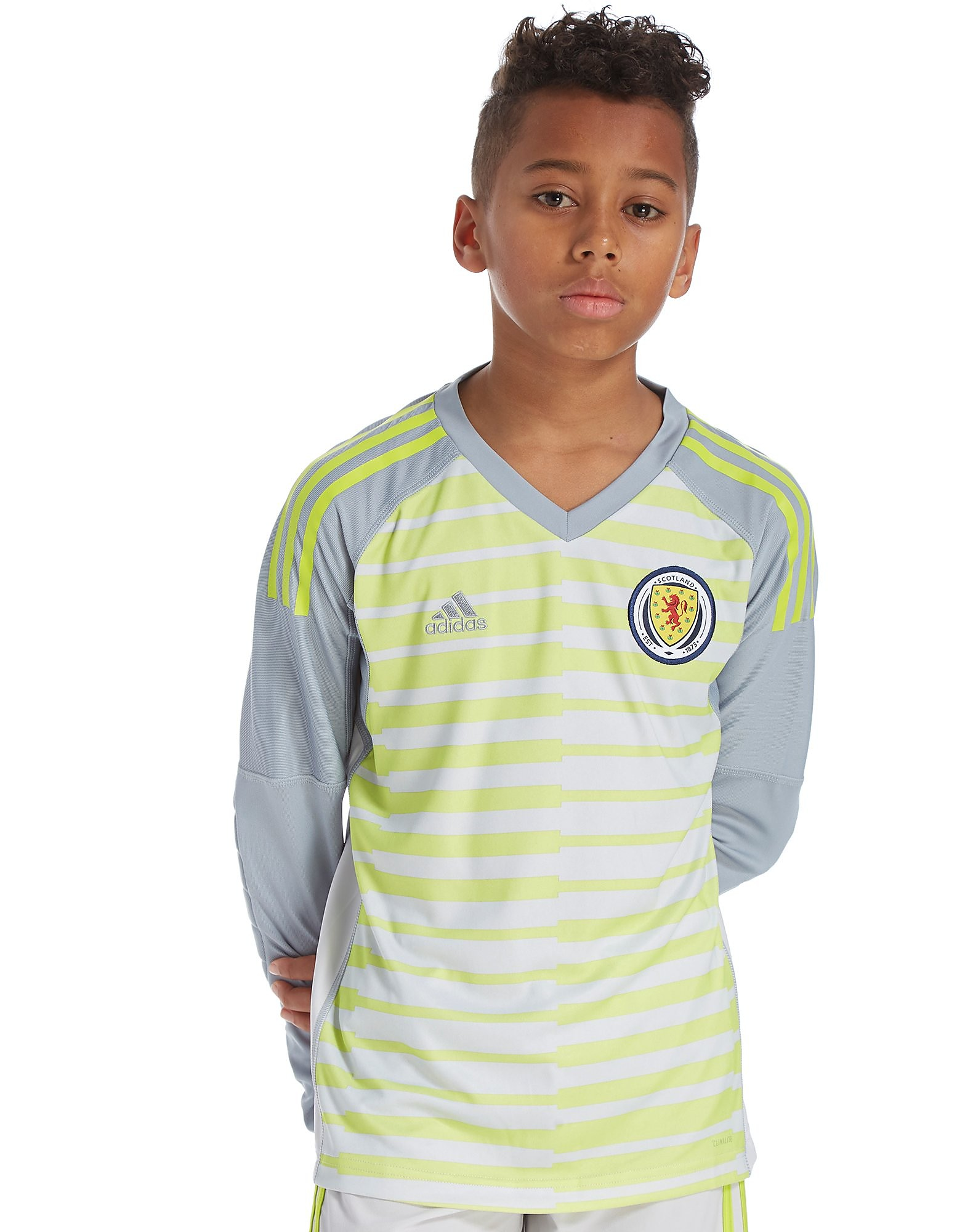 adidas Scotland 2018 Home Goalkeeper Shirt Junior