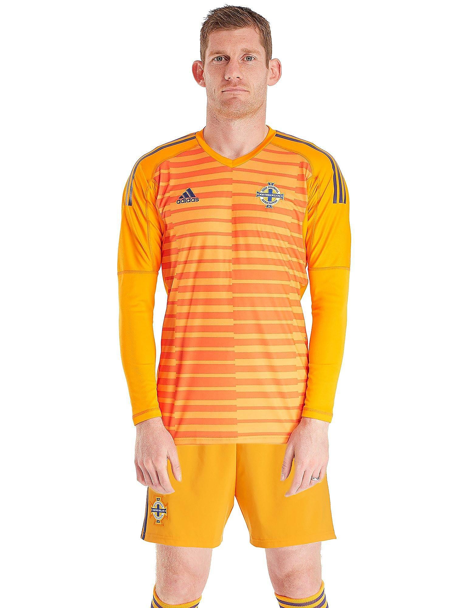adidas Northern Ireland 2018 Home Goalkeeper Shirt Heren - Oranje - Heren