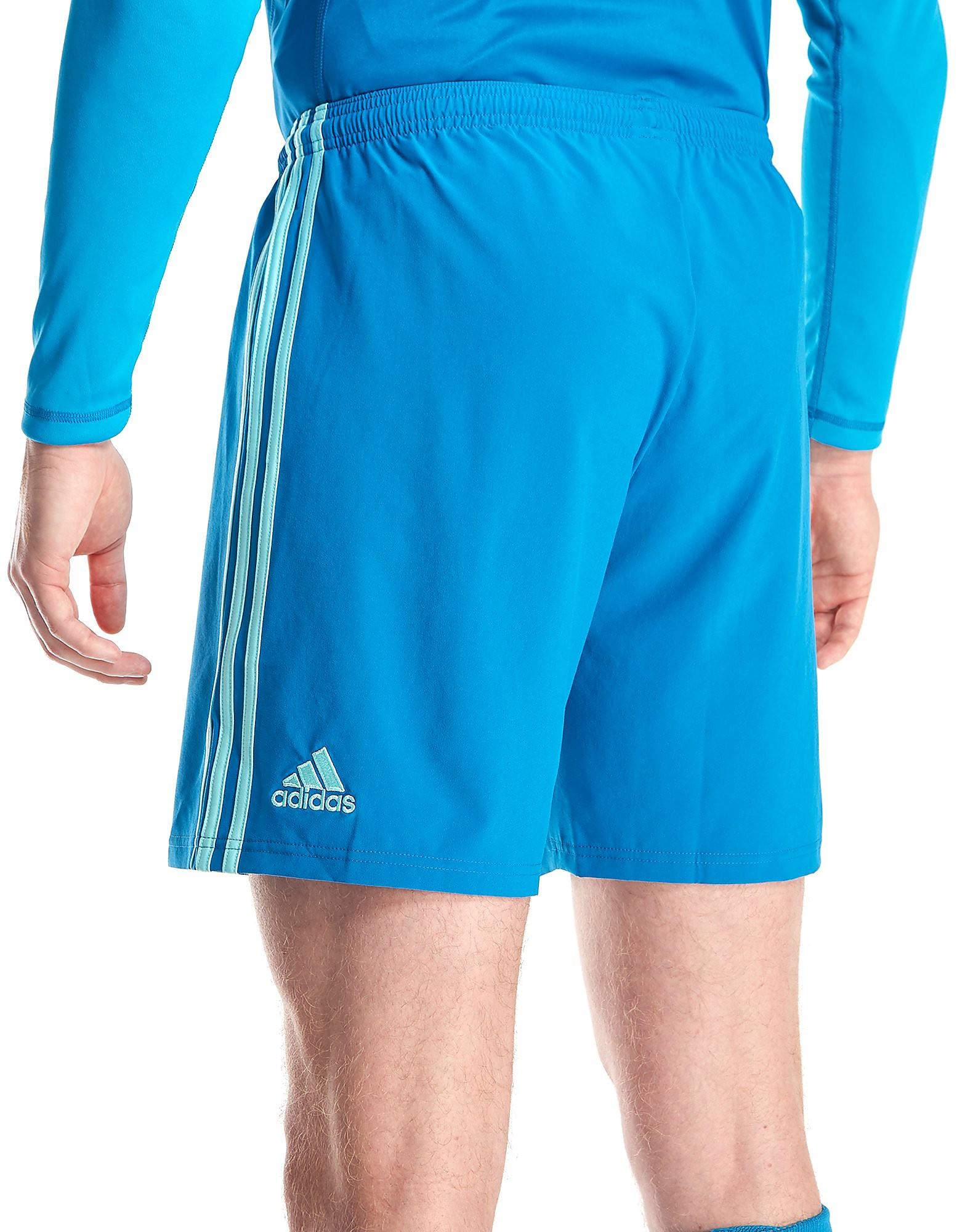 adidas Wales 2018 Home Goalkeeper Shorts