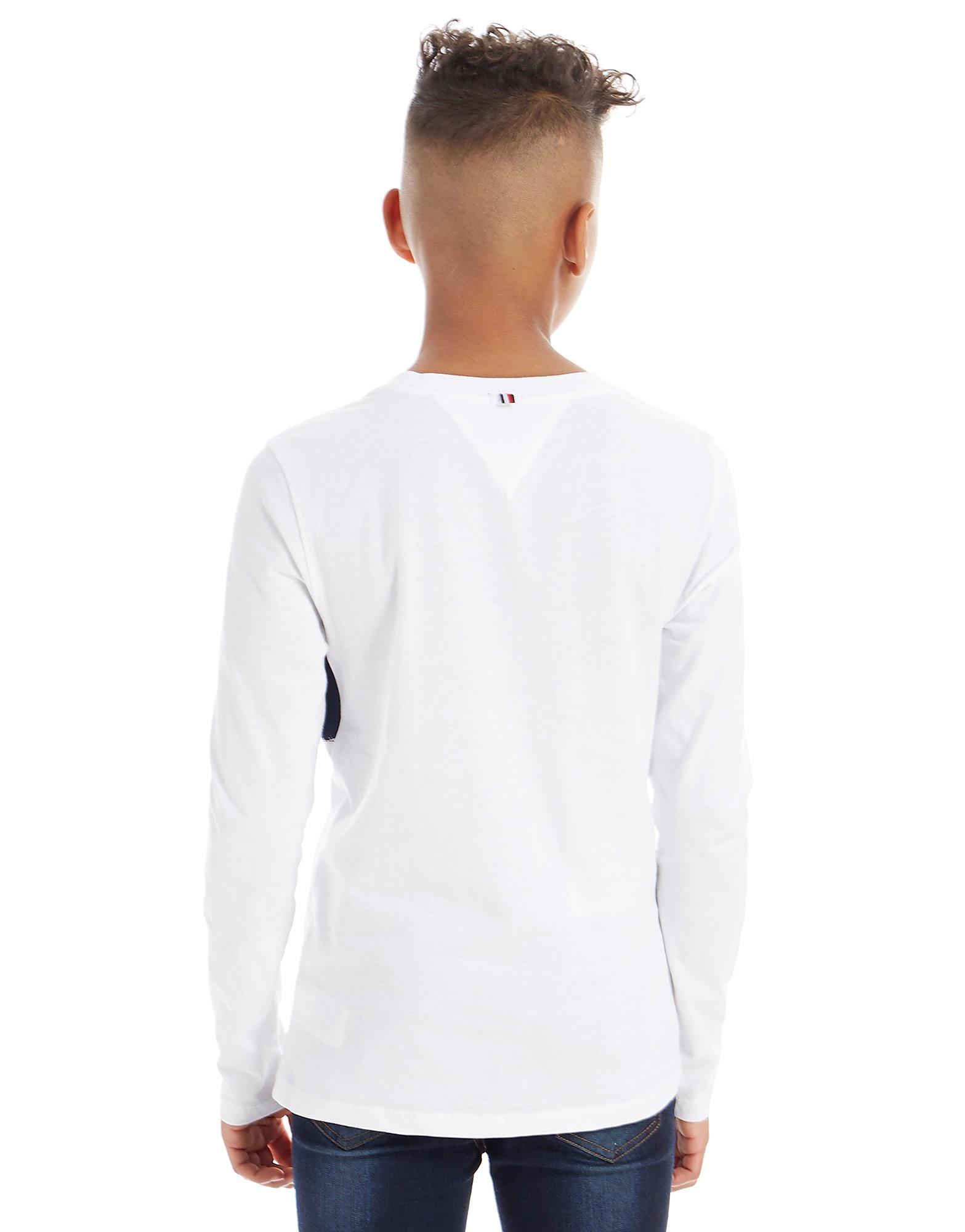 Tommy Hilfiger Long Sleeve Colourblock T-Shirt Junior