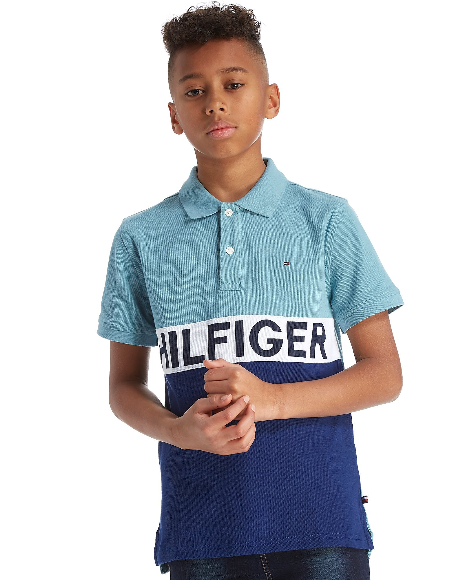 Tommy Hilfiger Colourblock Polo Shirt Junior