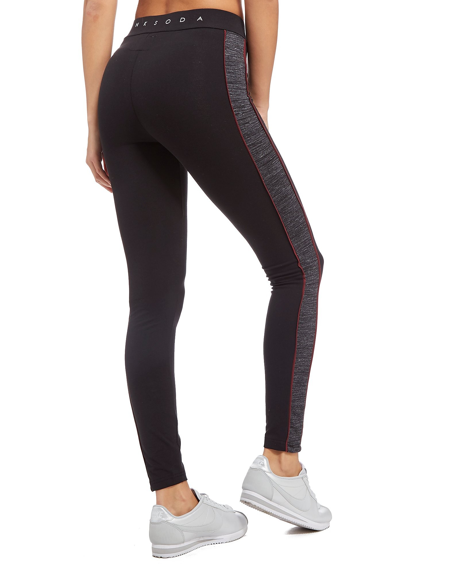 Pink Soda Sport Logo Lifestyle Leggings Dames