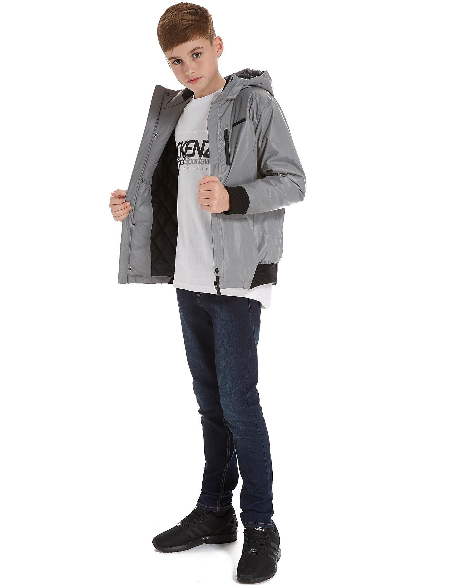 McKenzie Richmond Reflective Jacket Junior - alleen bij JD - Zilver - Kind