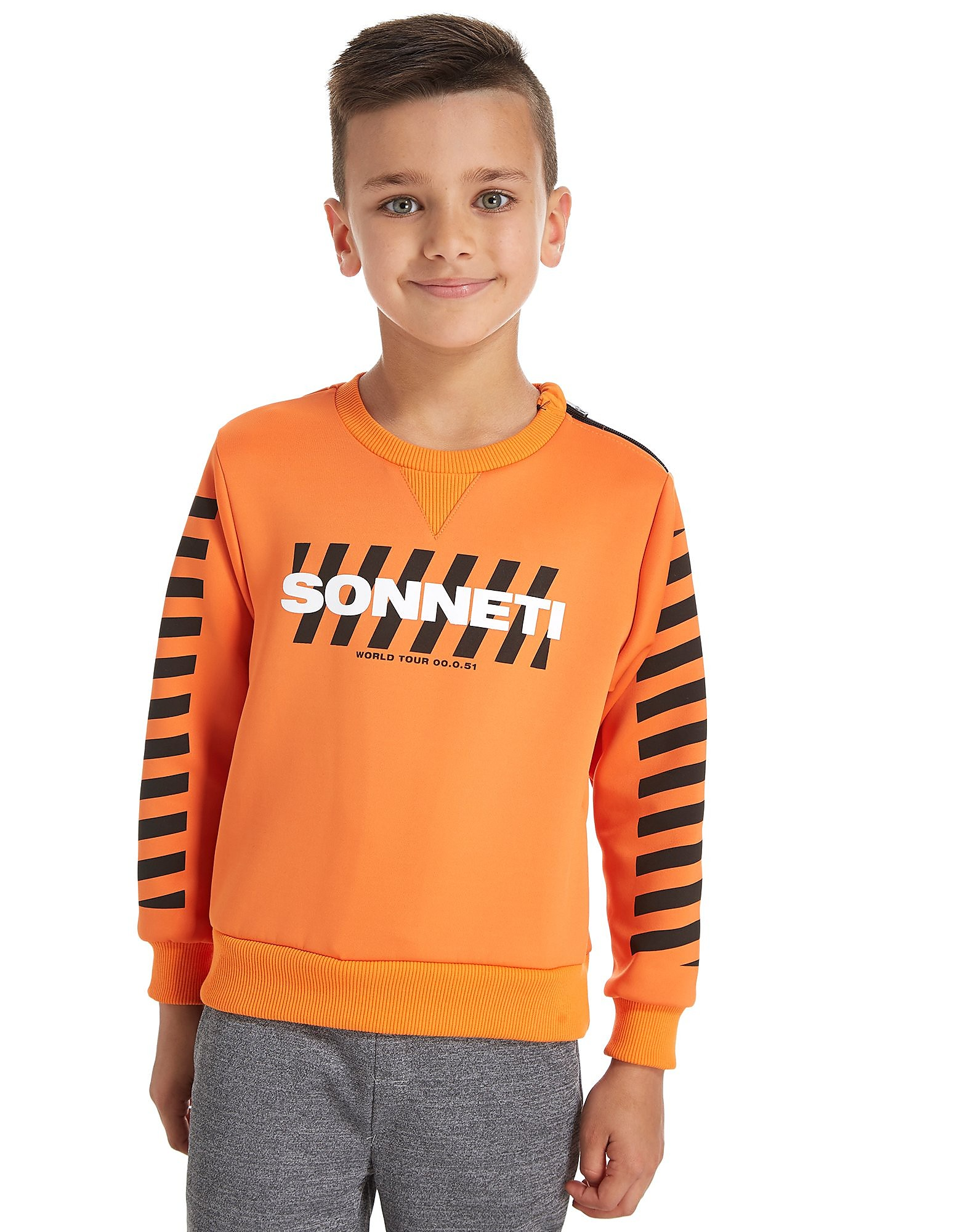 Sonneti Blade Run Sweatshirt Childrens Orange